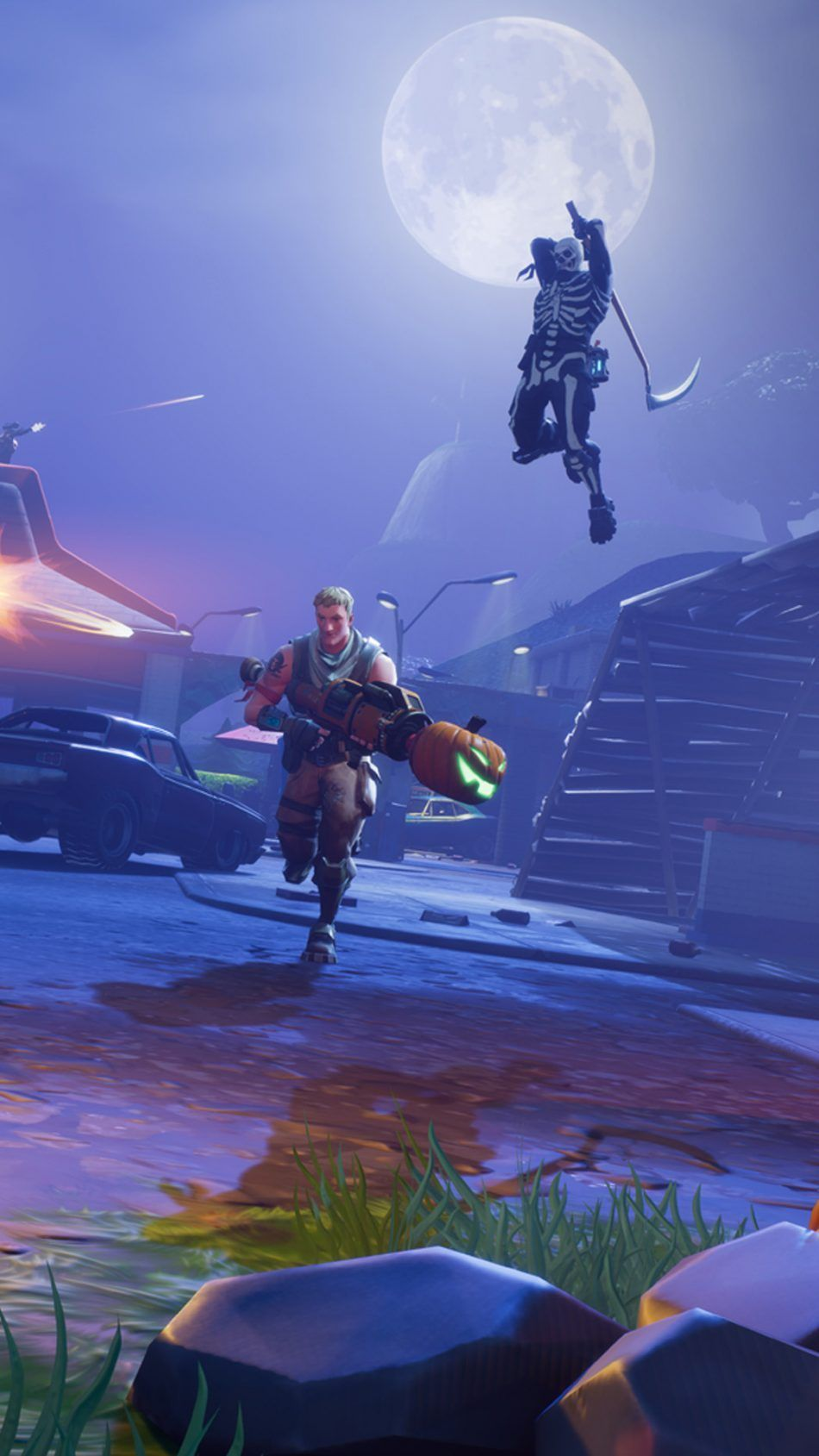 Fortnite Mobile Uhd Wallpapers Wallpaper Cave