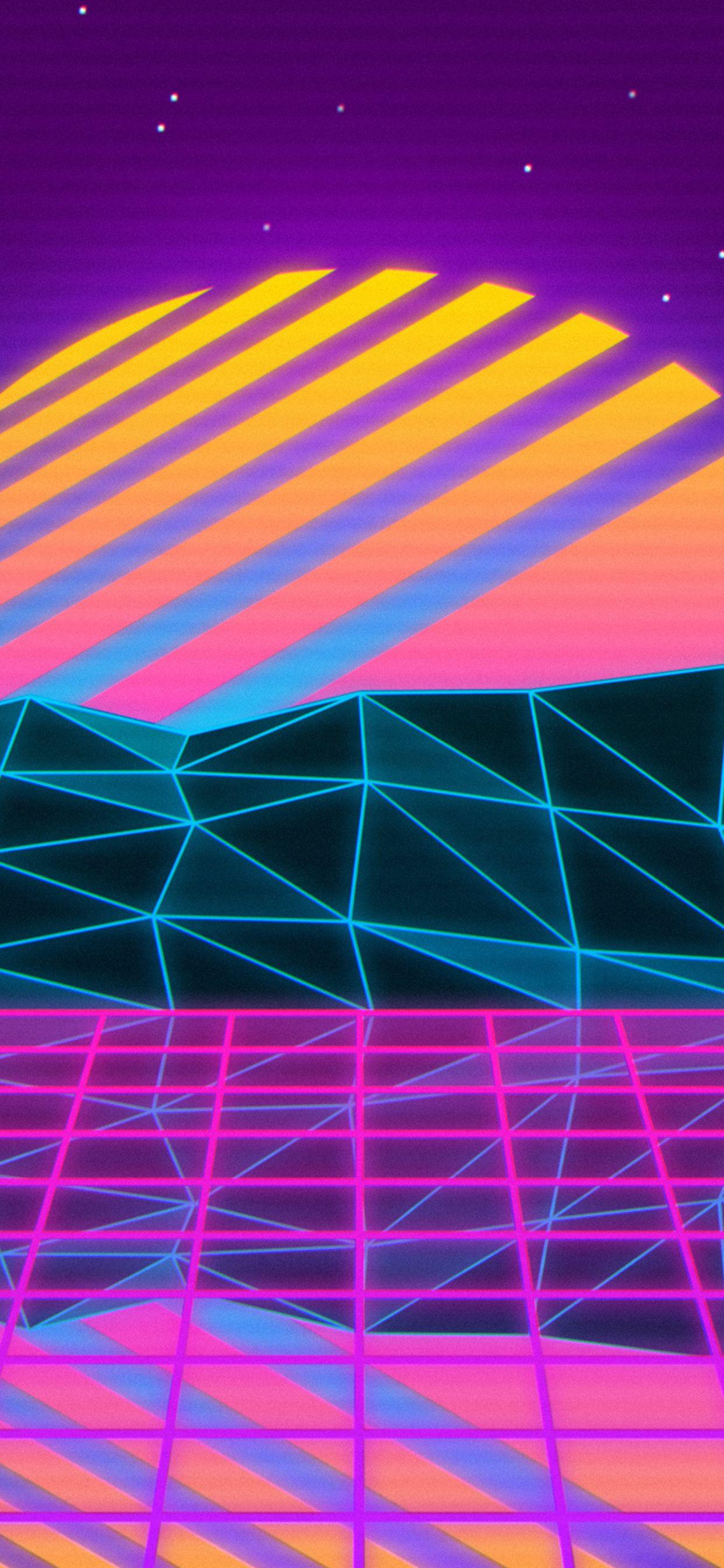 Vaporwave iPhone Wallpapers - Wallpaper Cave