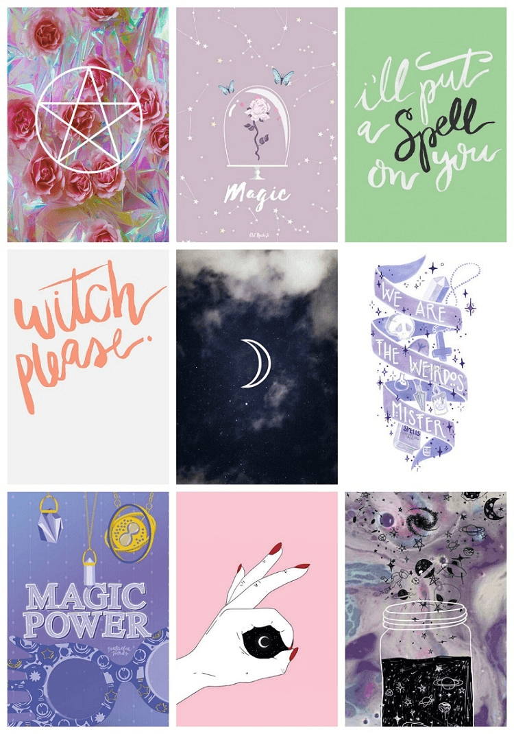 Witch Aesthetic Wallpapers Wallpaper Cave