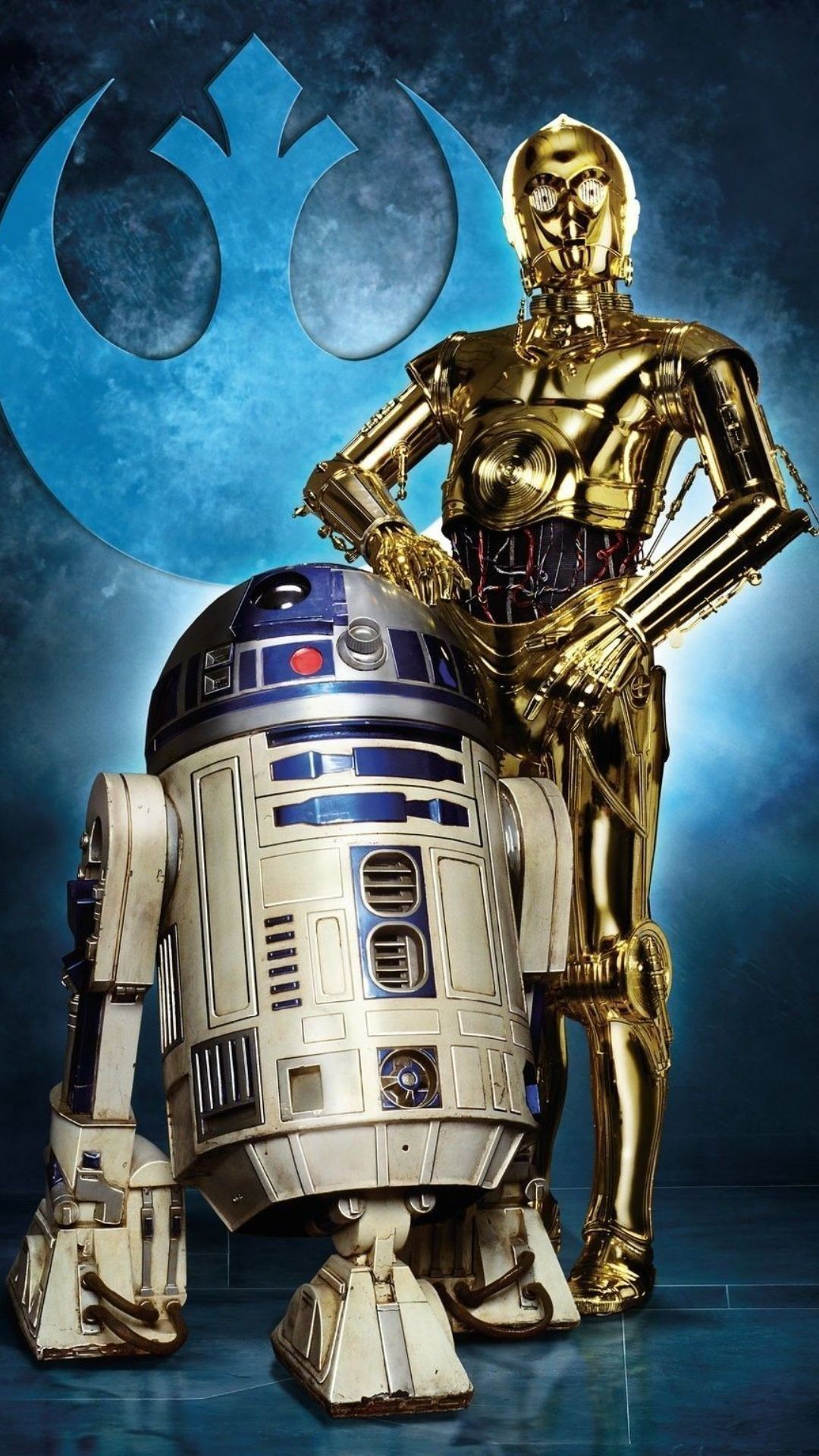R2d2 And C3po Android Wallpapers Wallpaper Cave
