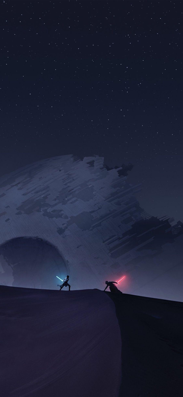 Star Wars Iphone X Minimalistic Wallpapers Wallpaper Cave