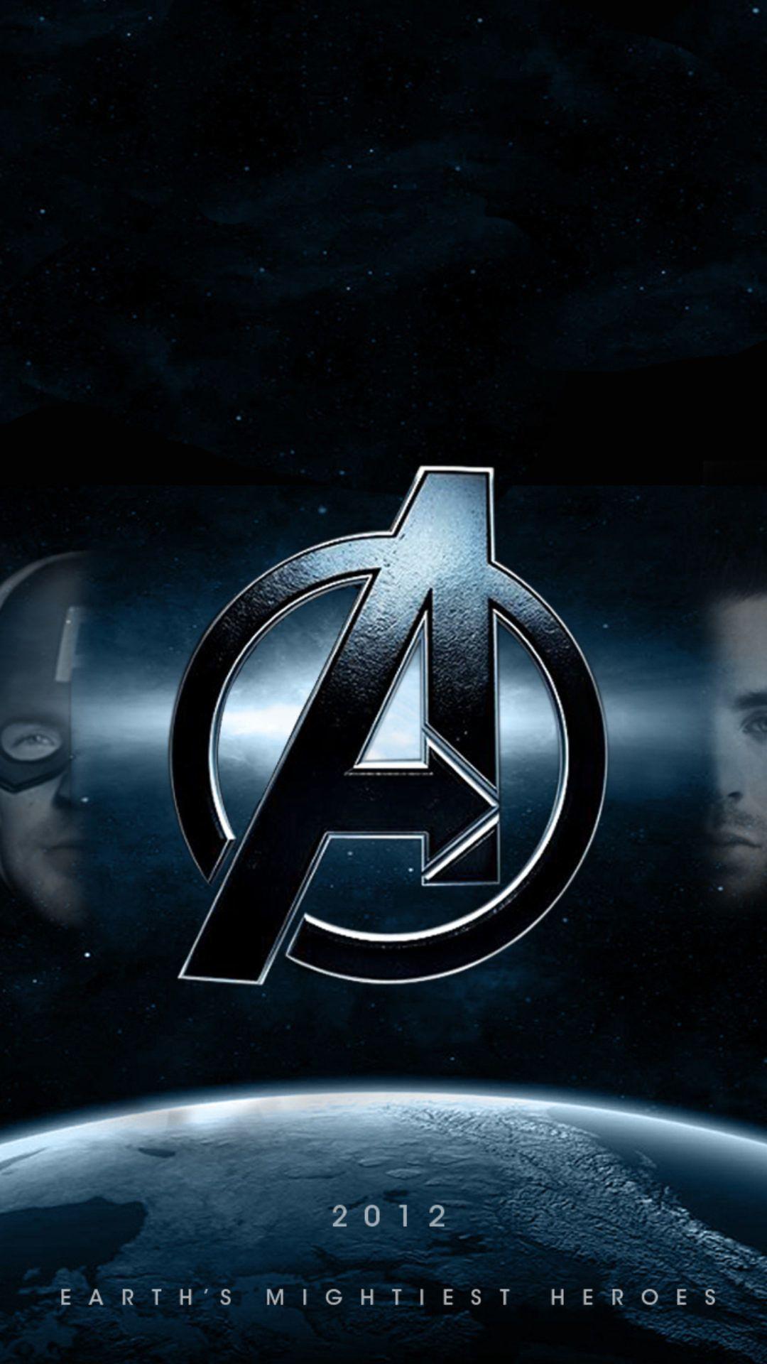 Avengers Symbol Mobile Wallpapers Wallpaper Cave