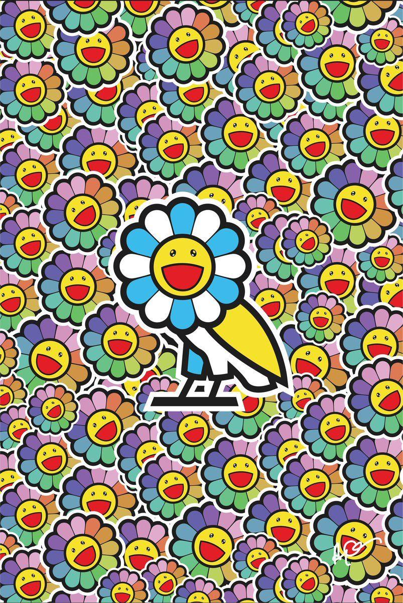 Takashi Murakami Flower iPhone Wallpapers - Wallpaper Cave