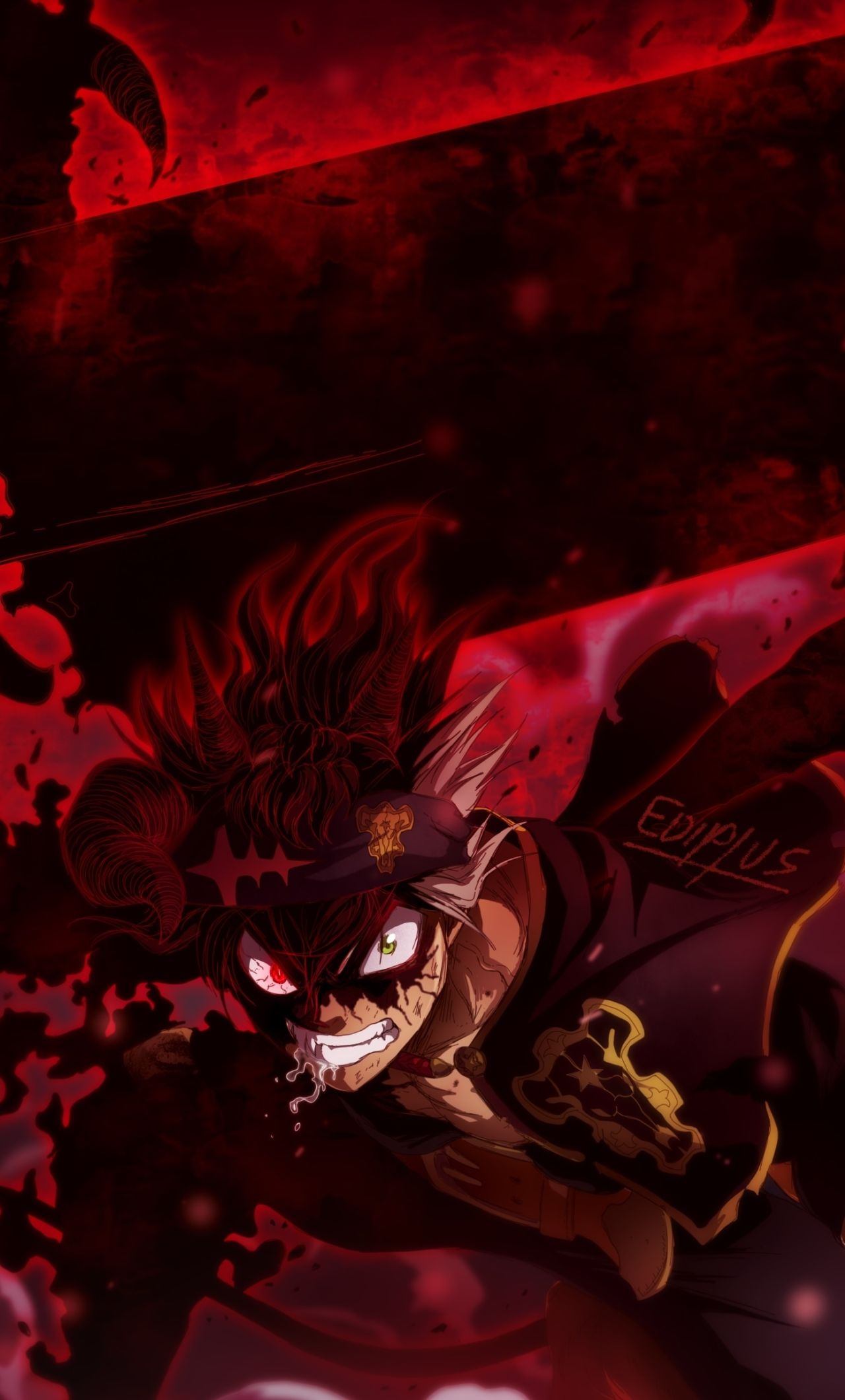 Black Clover iPhone Wallpapers - Wallpaper Cave