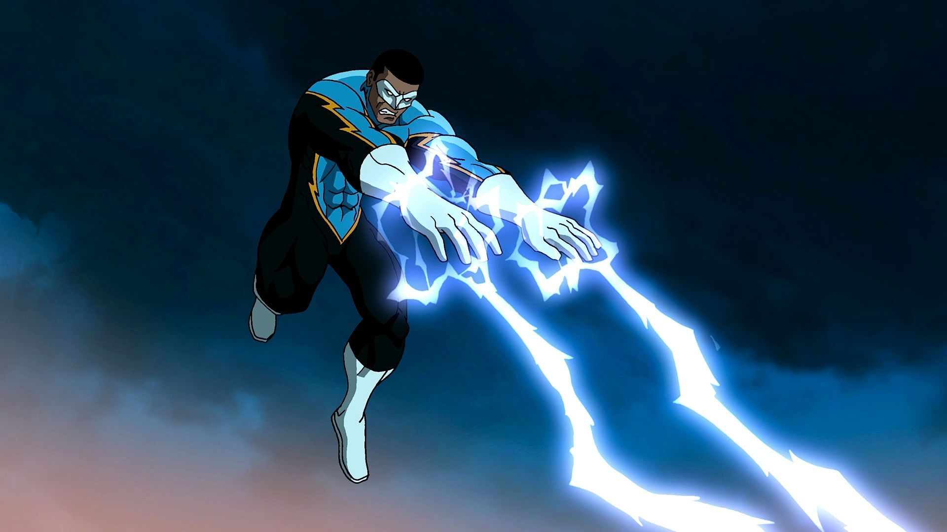 Black Lightning Computer Wallpapers, Desktop Backgrounds