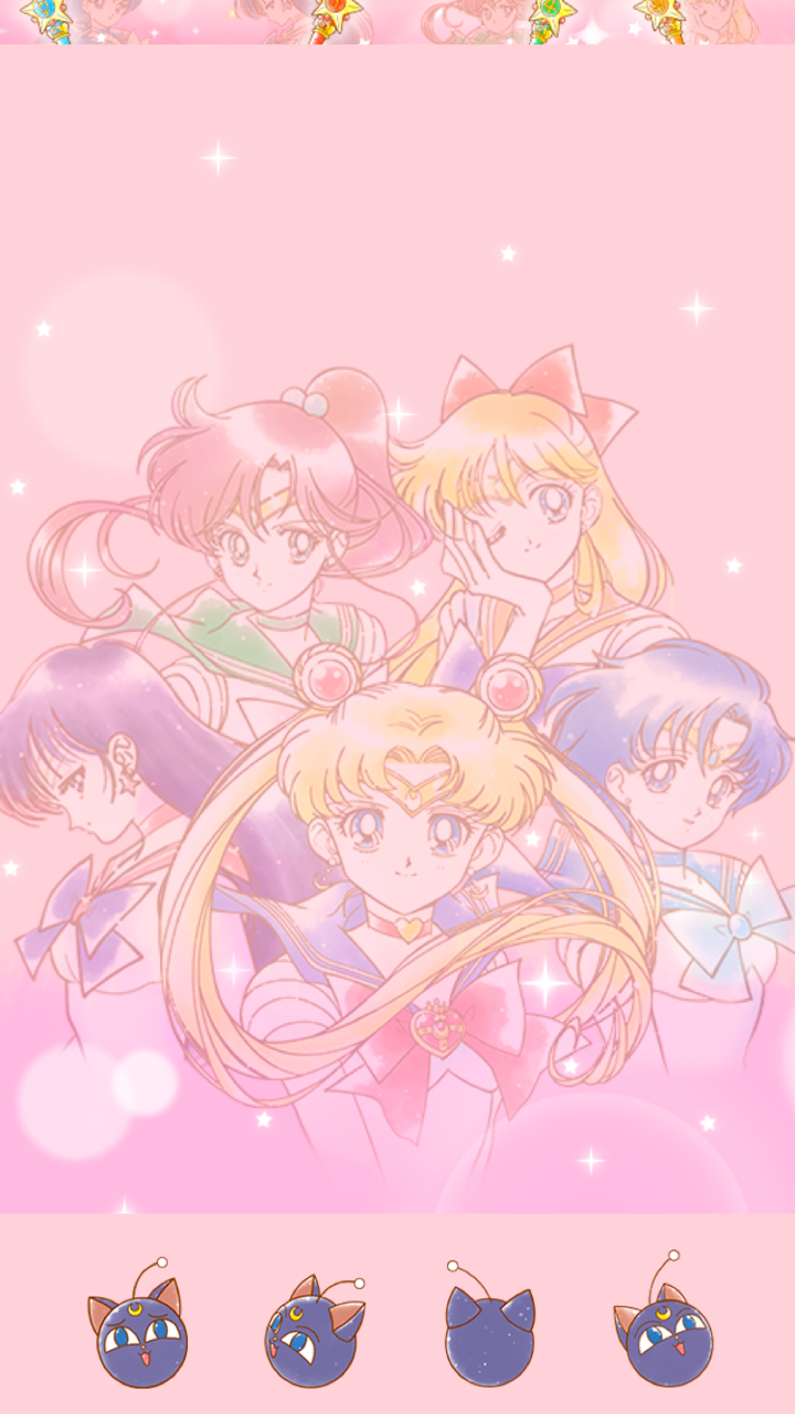 Sailor Moon Pink Aesthetic Wallpapers Wallpaper Cave