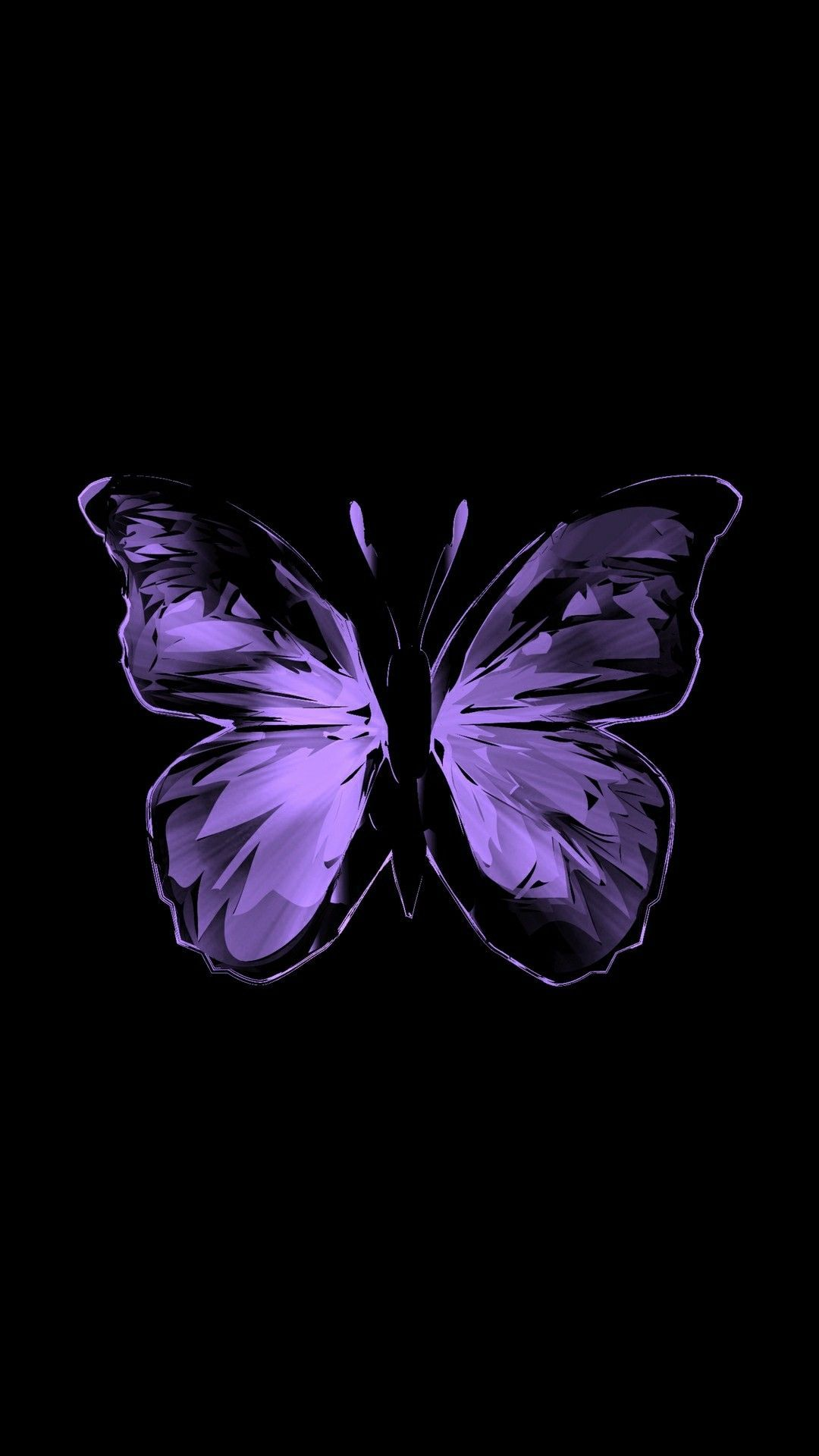 Aesthetic Purple Butterfly Wallpapers - Wallpaper Cave