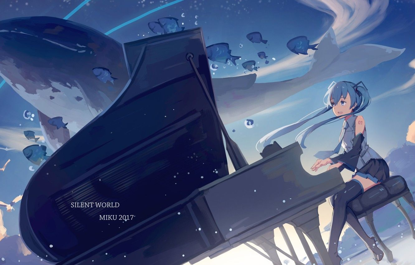 Girls With Piano Anime Wallpapers - Wallpaper Cave