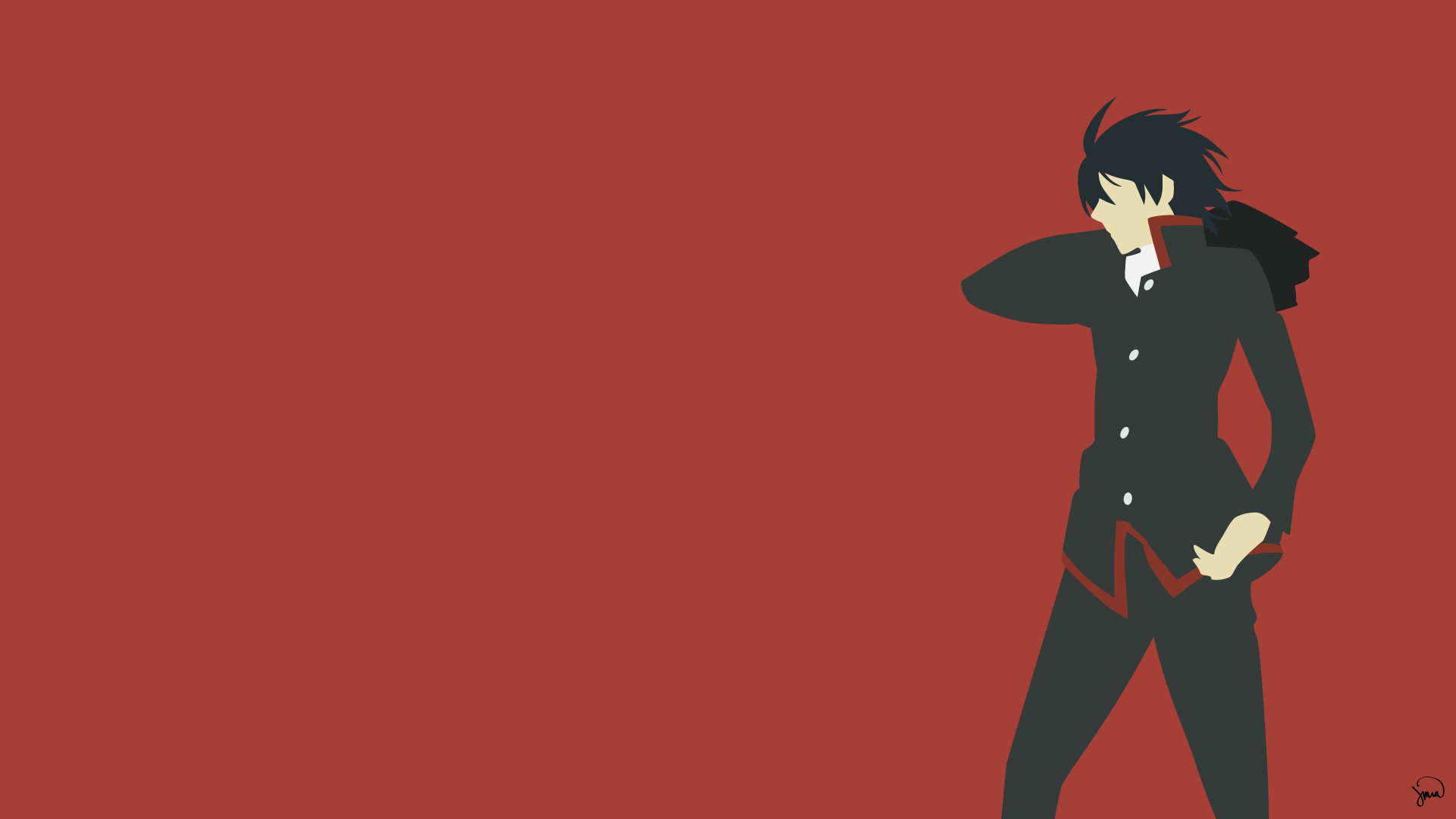 Minimalistic Anime Wallpapers Wallpaper Cave