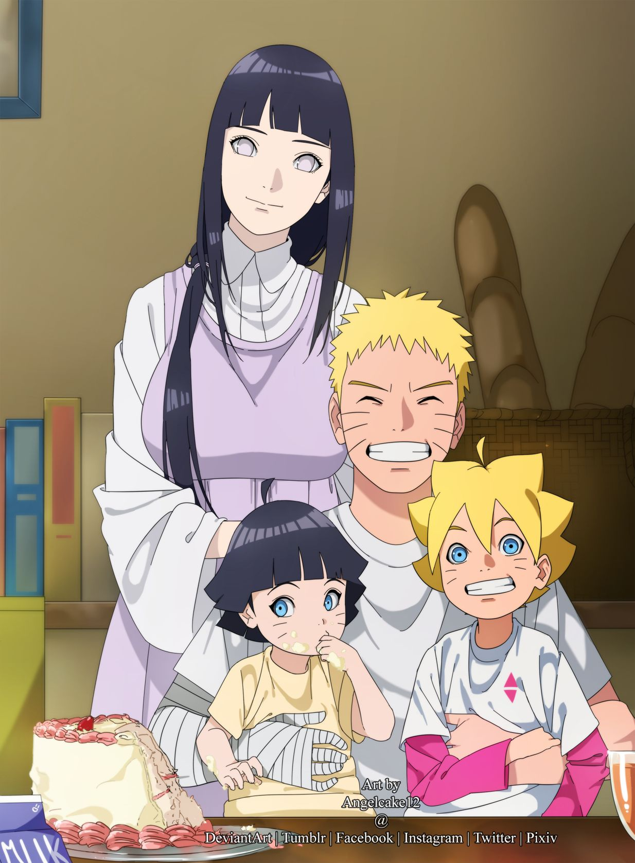 Naruto Family Android Wallpapers Wallpaper Cave
