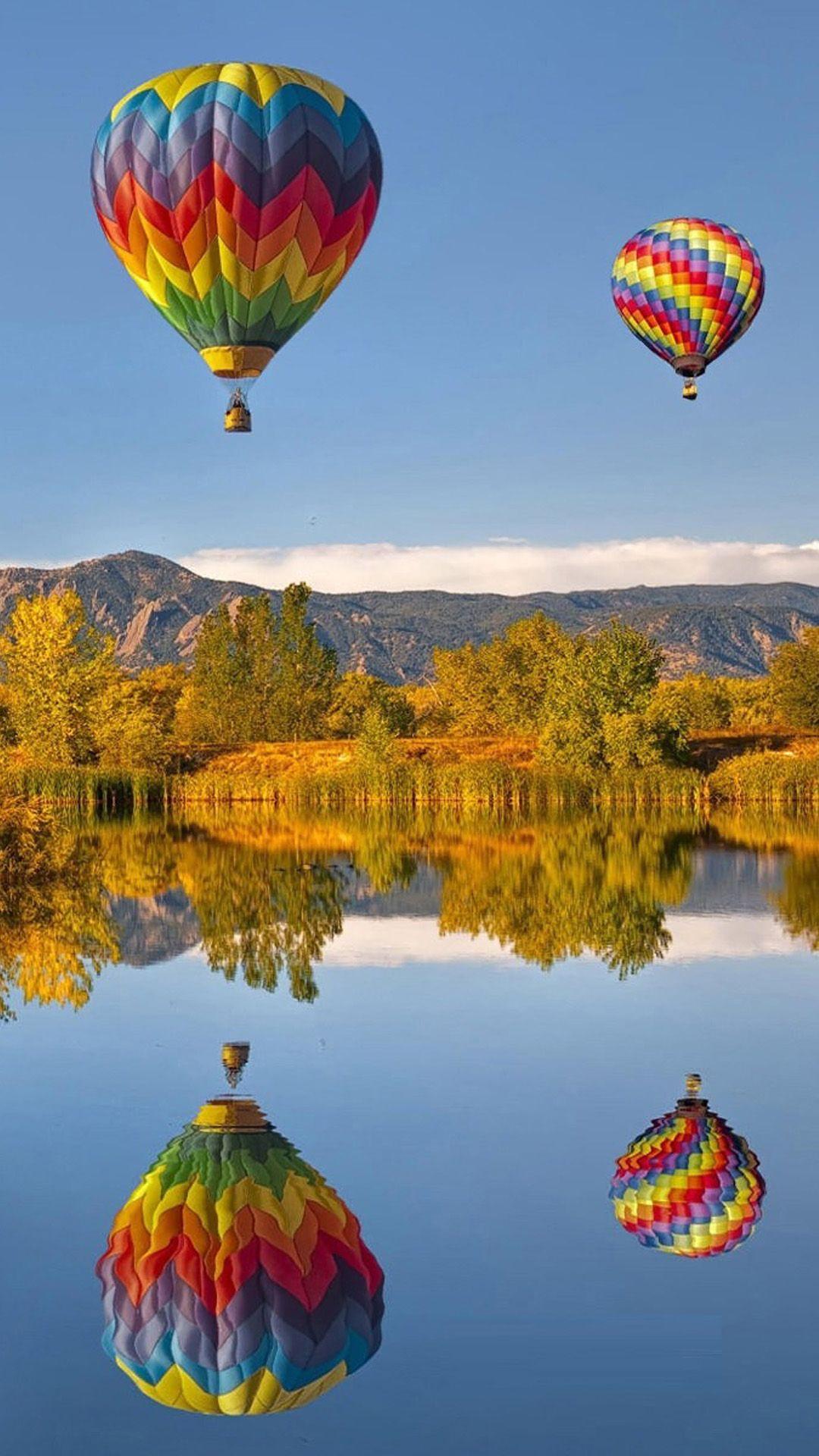 Hot Air Balloon Iphone Wallpapers Wallpaper Cave