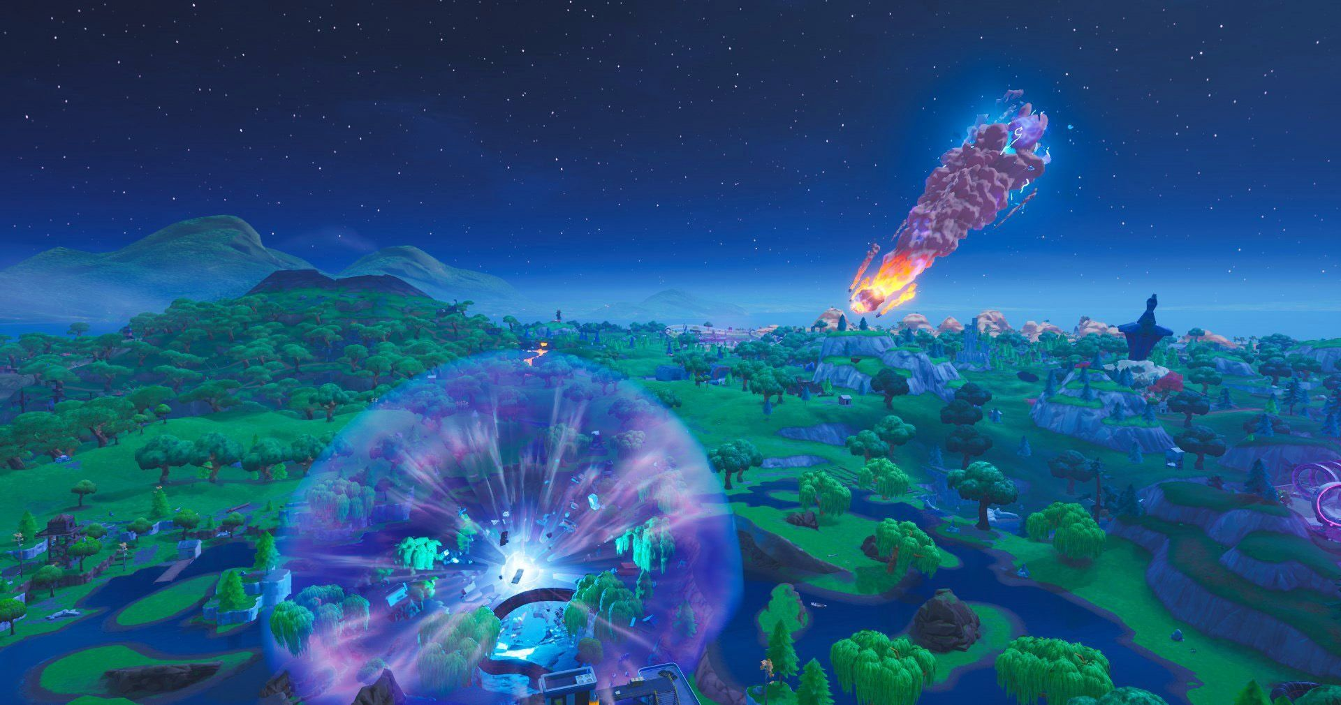 The Zero Point Fortnite Wallpapers Wallpaper Cave The zero point is an important storyline object in battle royale. the zero point fortnite wallpapers
