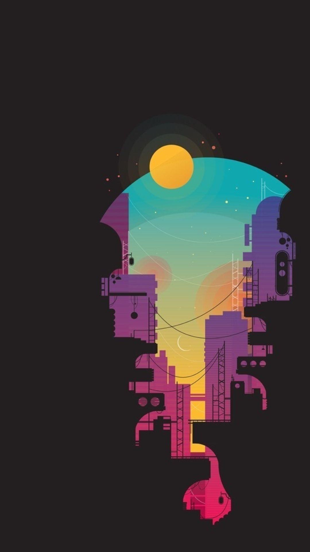 Minimalistic Cyberpunk Wallpapers - Wallpaper Cave