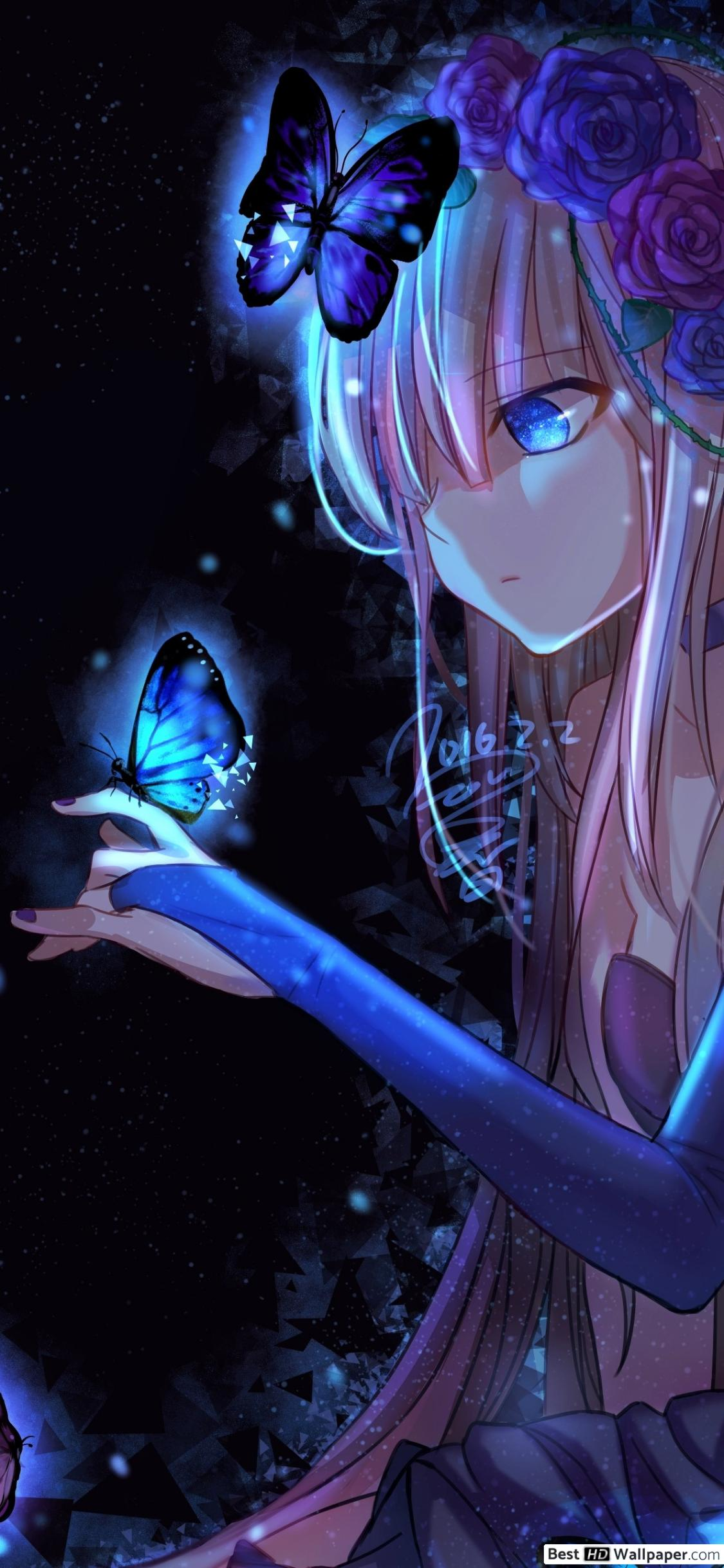 Anime Girl Phone HD Wallpapers - Wallpaper Cave