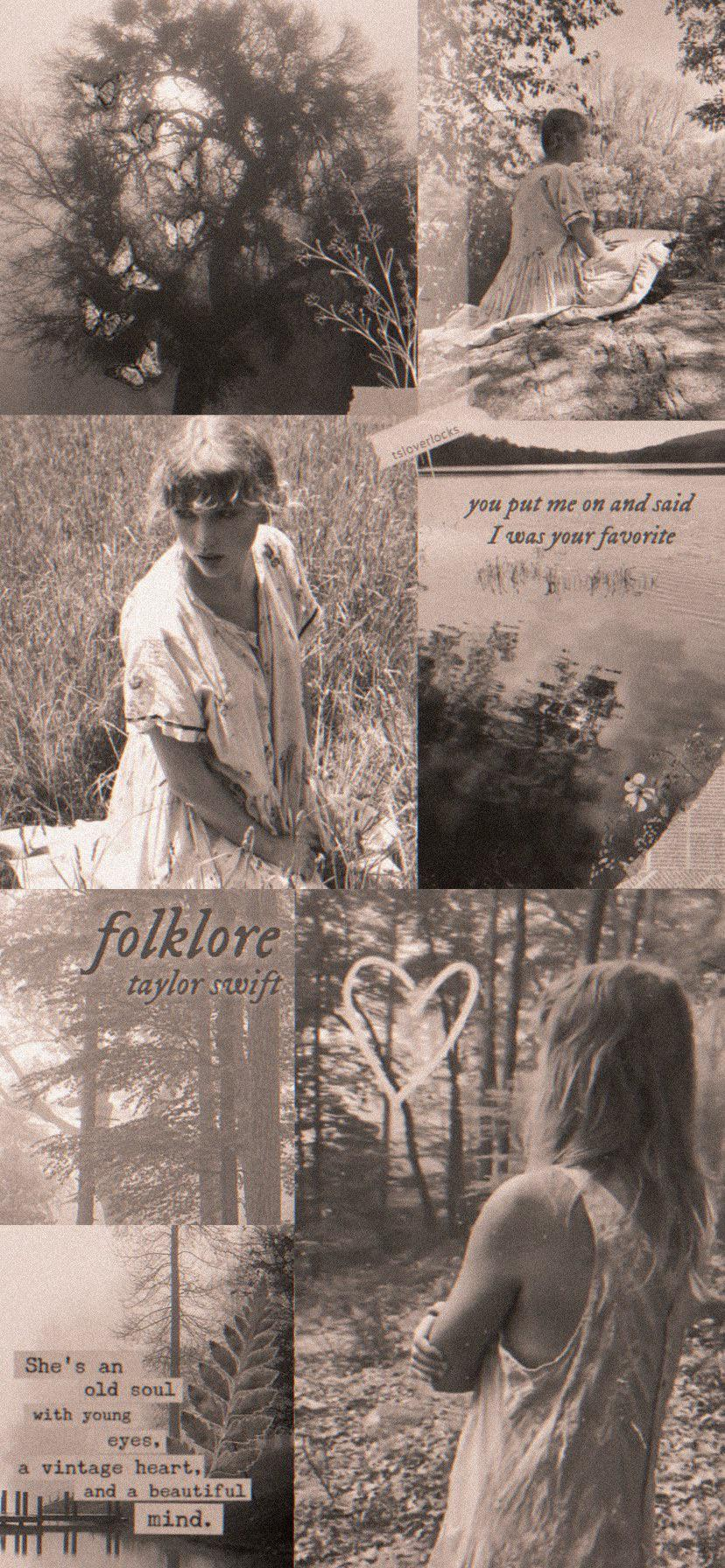 Download Taylor Swift Folklore Hd Wallpapers