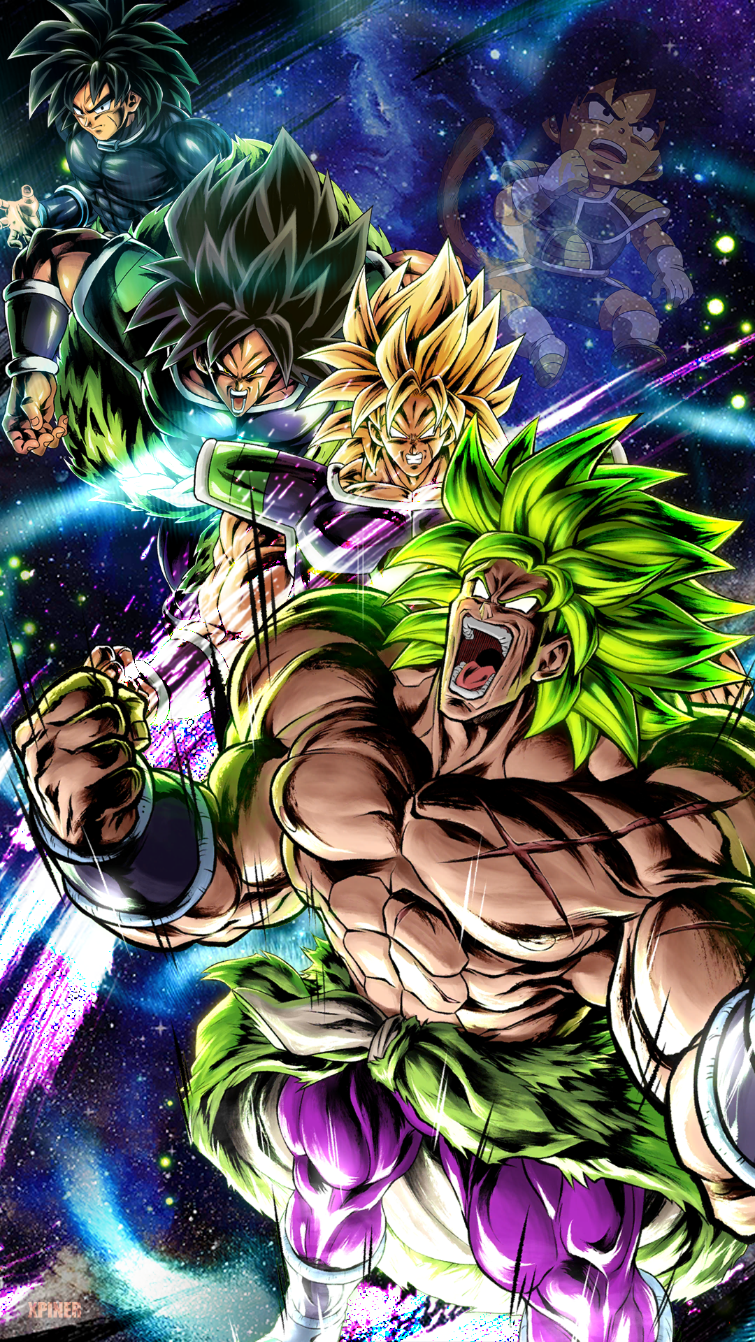 Dbs Broly Wallpapers Wallpaper Cave