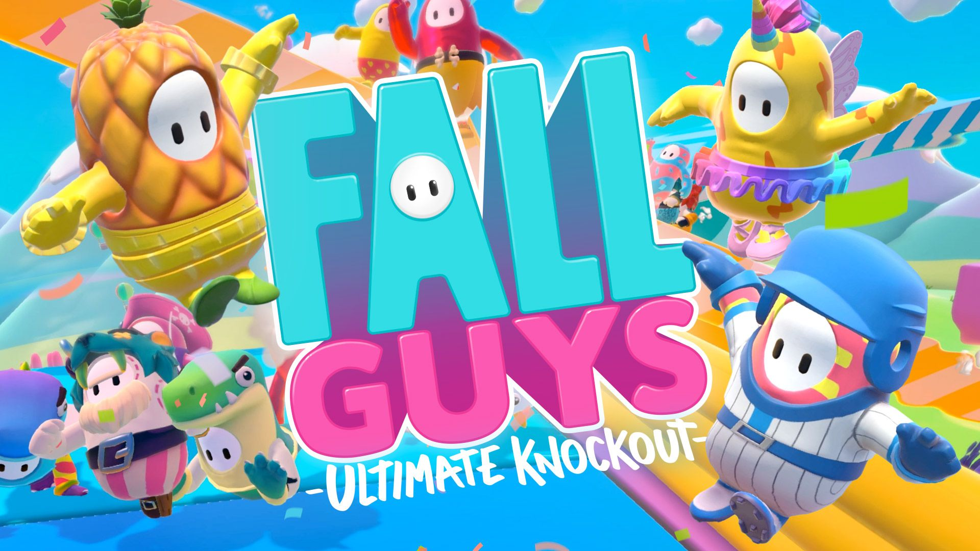 Fall Guys Ultimate Knockout Wallpapers Wallpaper Cave