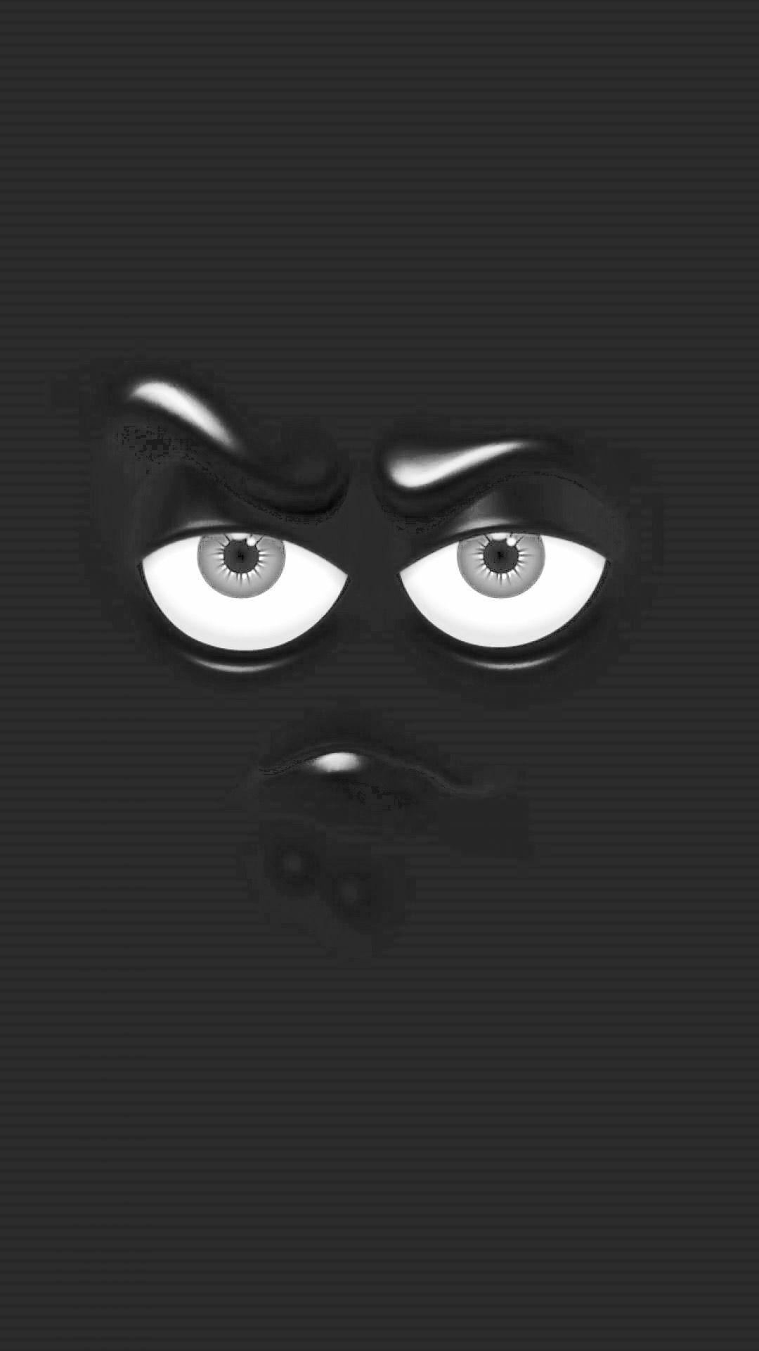 Black Emoji Wallpapers - Wallpaper Cave