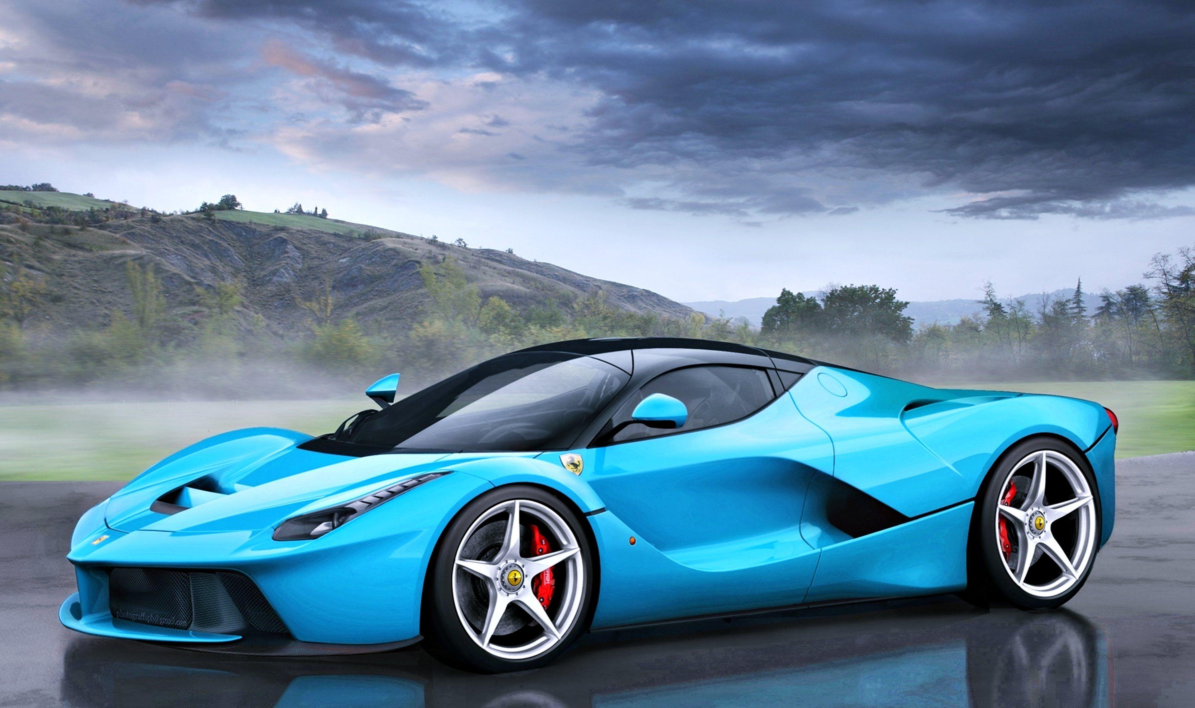 Blue Ferrari Wallpapers Wallpaper Cave