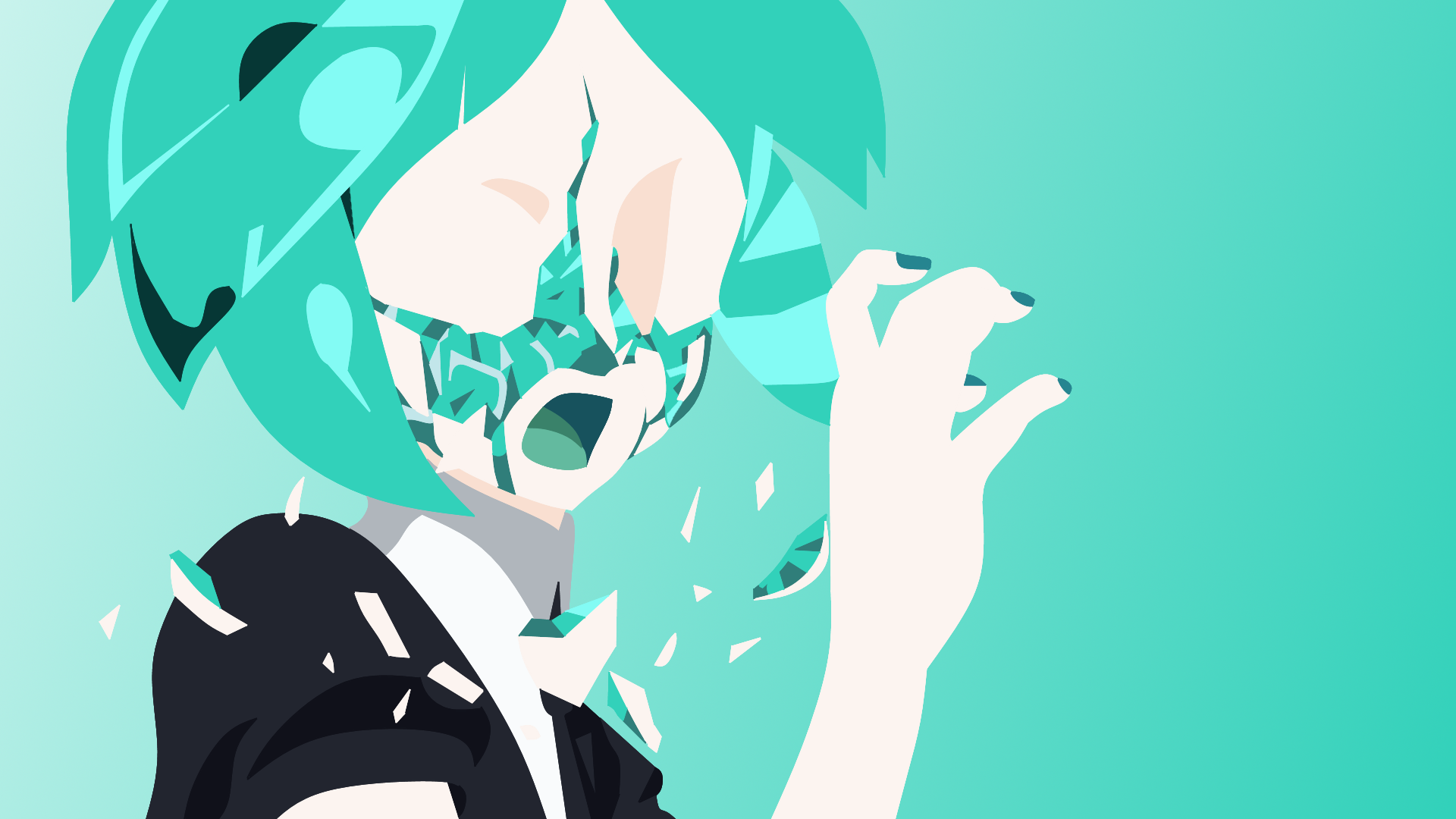 Land Of The Lustrous Wallpapers Wallpaper Cave