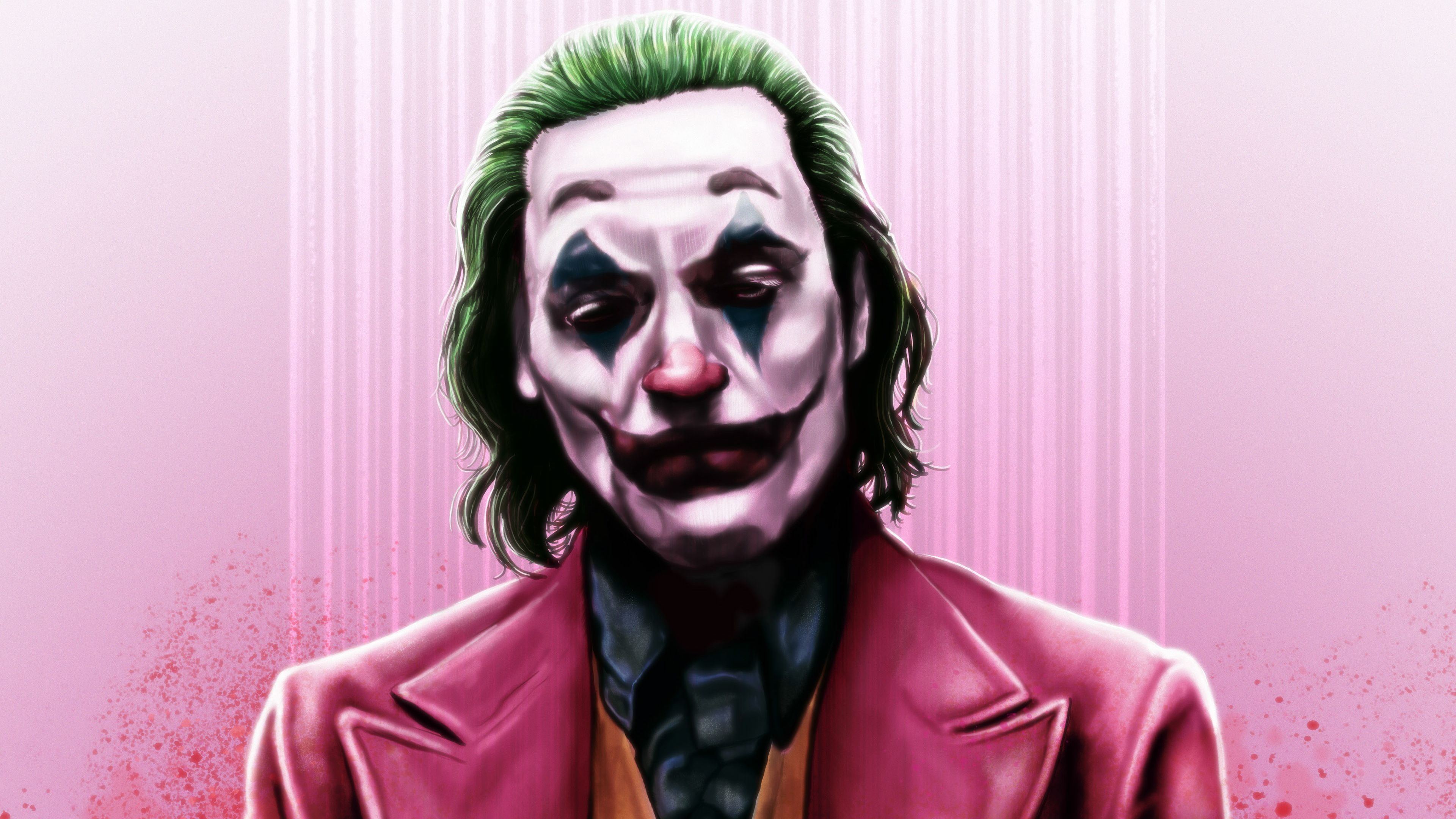 Joker Joaquin Phoenix 4k Art supervillain wallpapers, superheroes