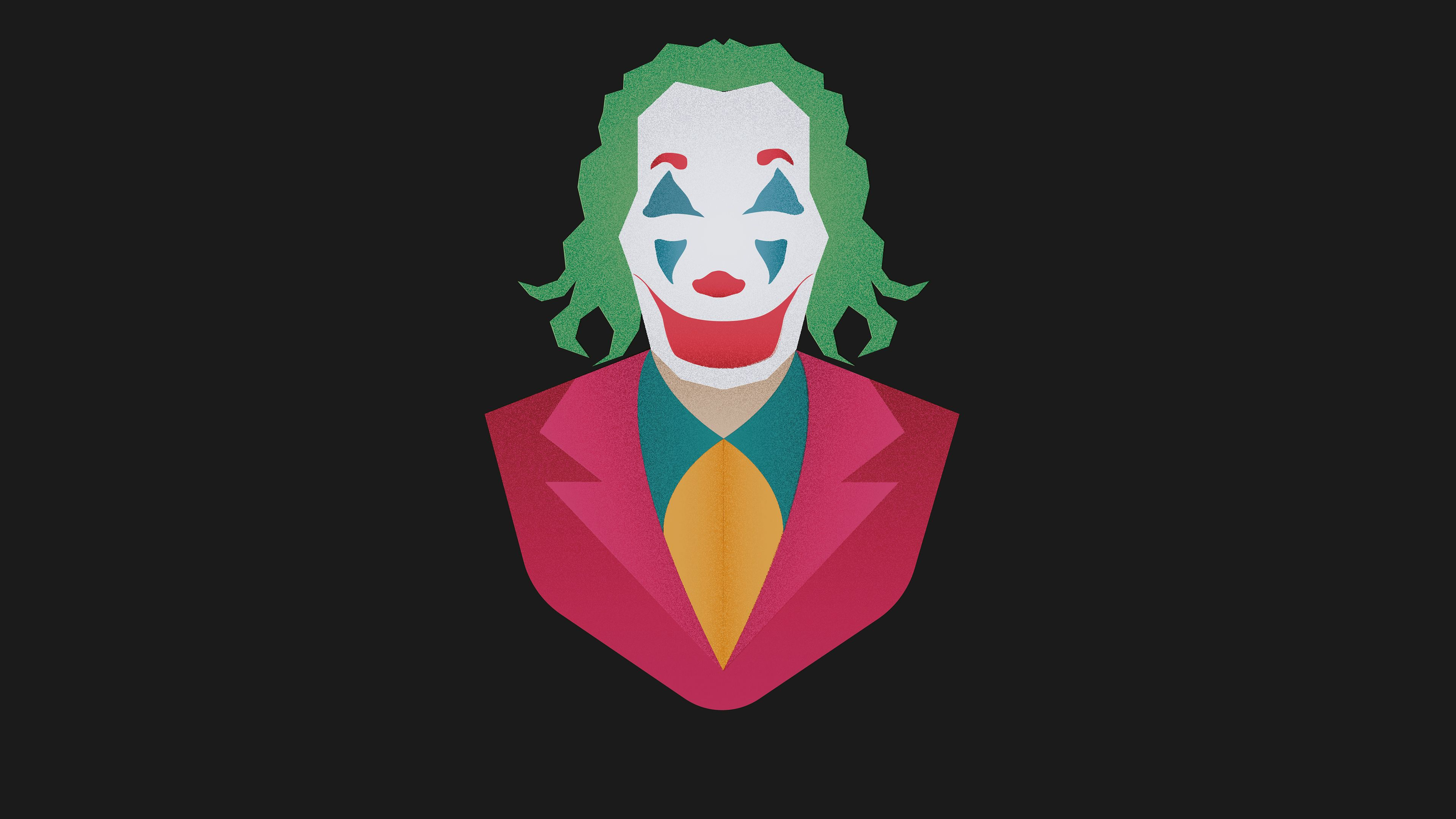 Wallpapers 4k Joker Movie Minimalism2 4k
