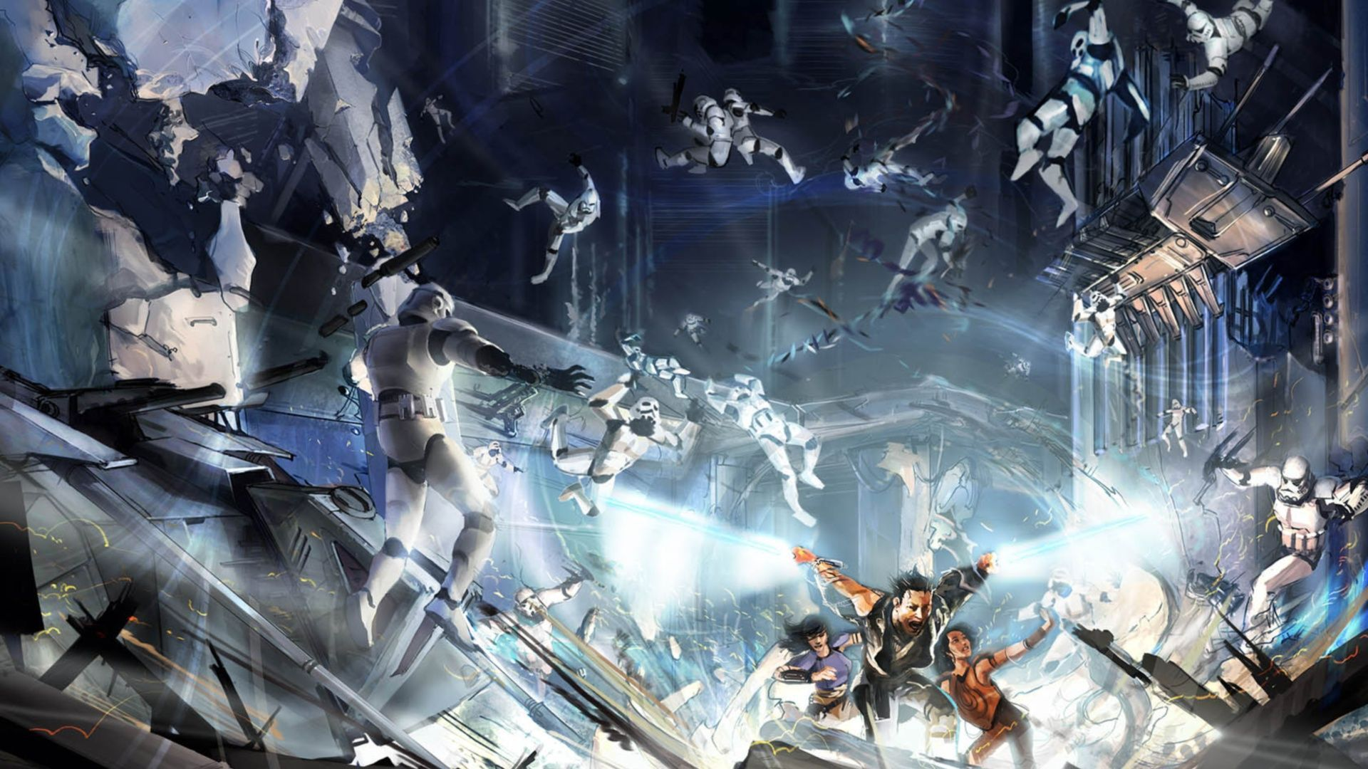 Star Wars Battles Wallpapers Wallpaper Cave