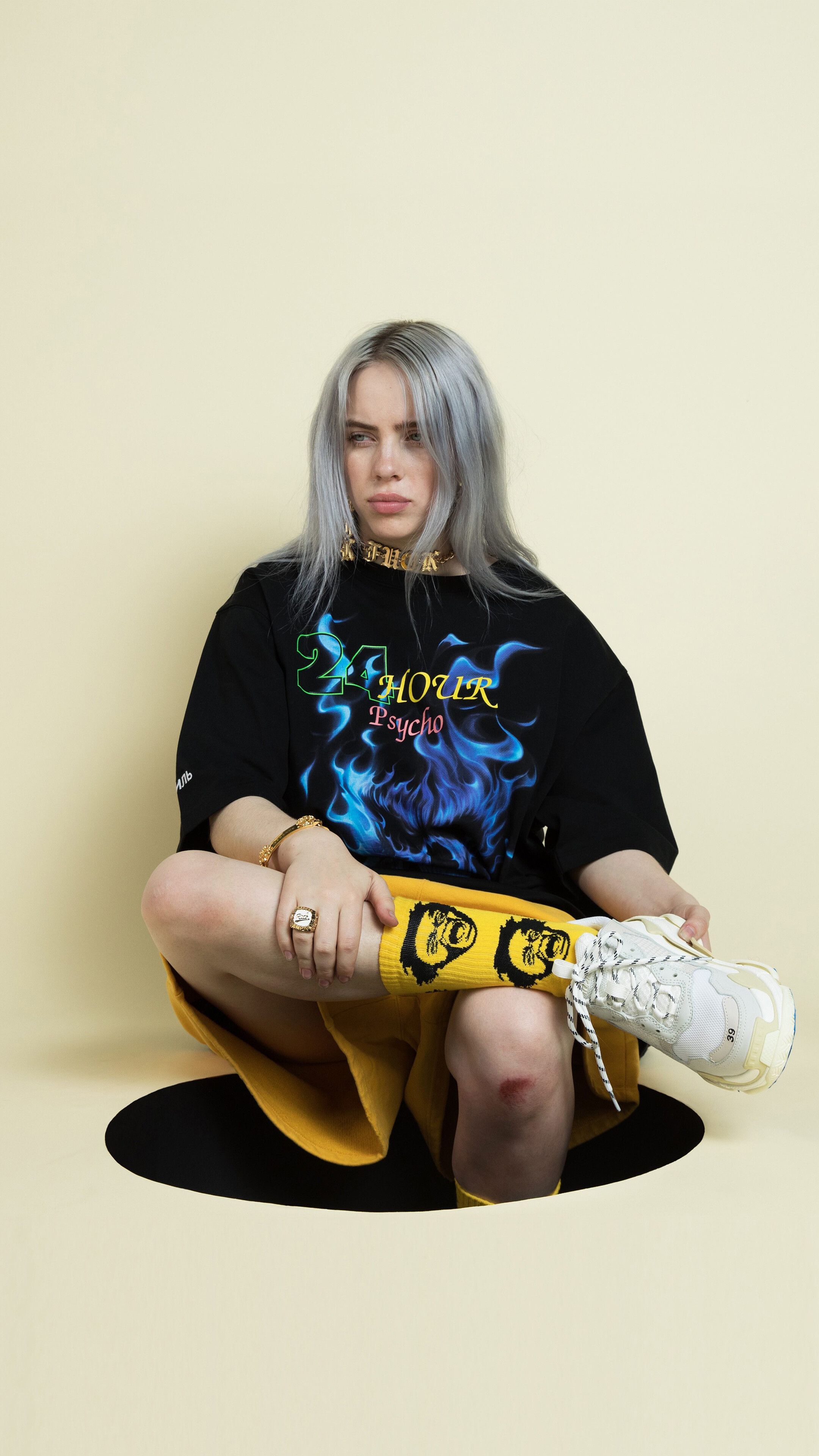 billie eilish hd iphone wallpapers wallpaper cave