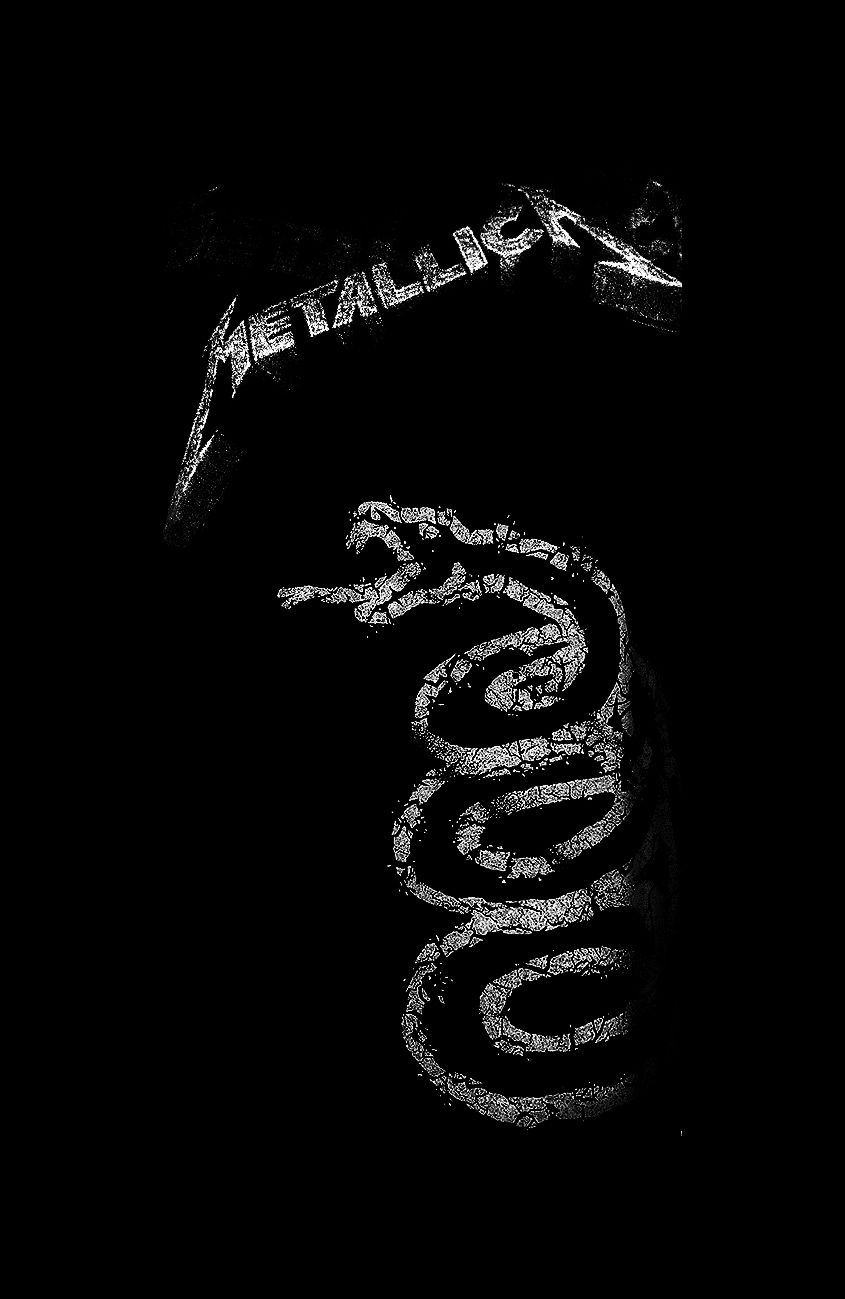 The Black Album Metallica Mobile Wallpapers Wallpaper Cave