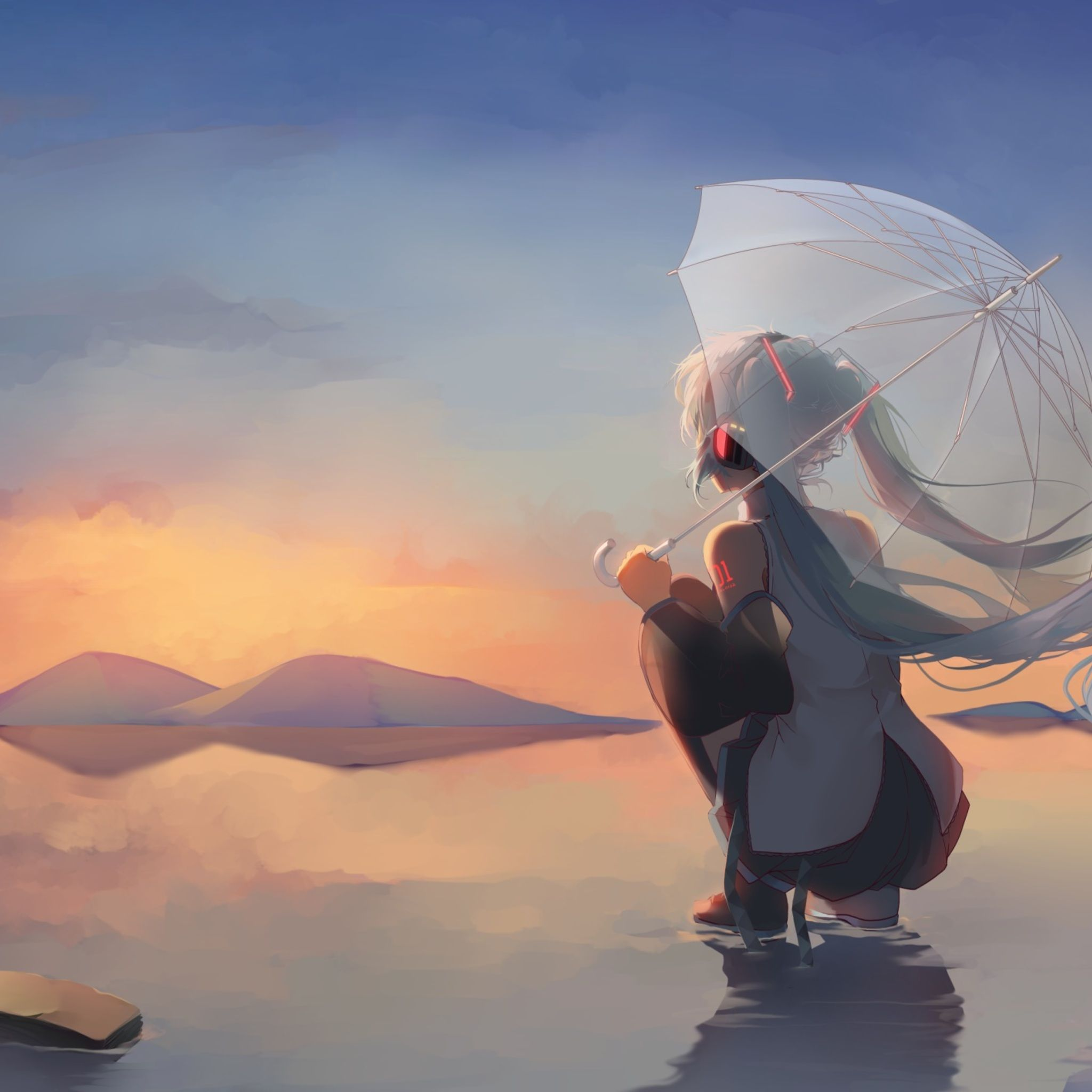 Calming Anime Wallpapers Wallpaper Cave