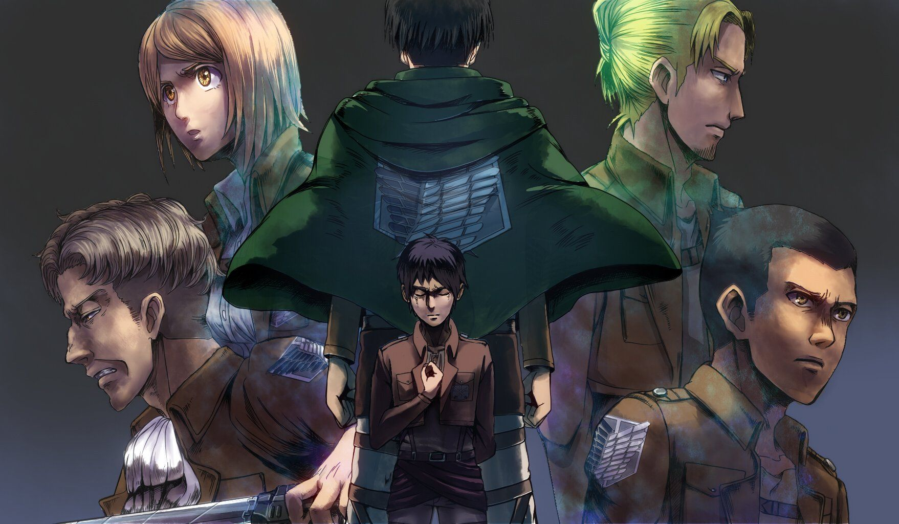 Survey Corps Wallpapers Wallpaper Cave