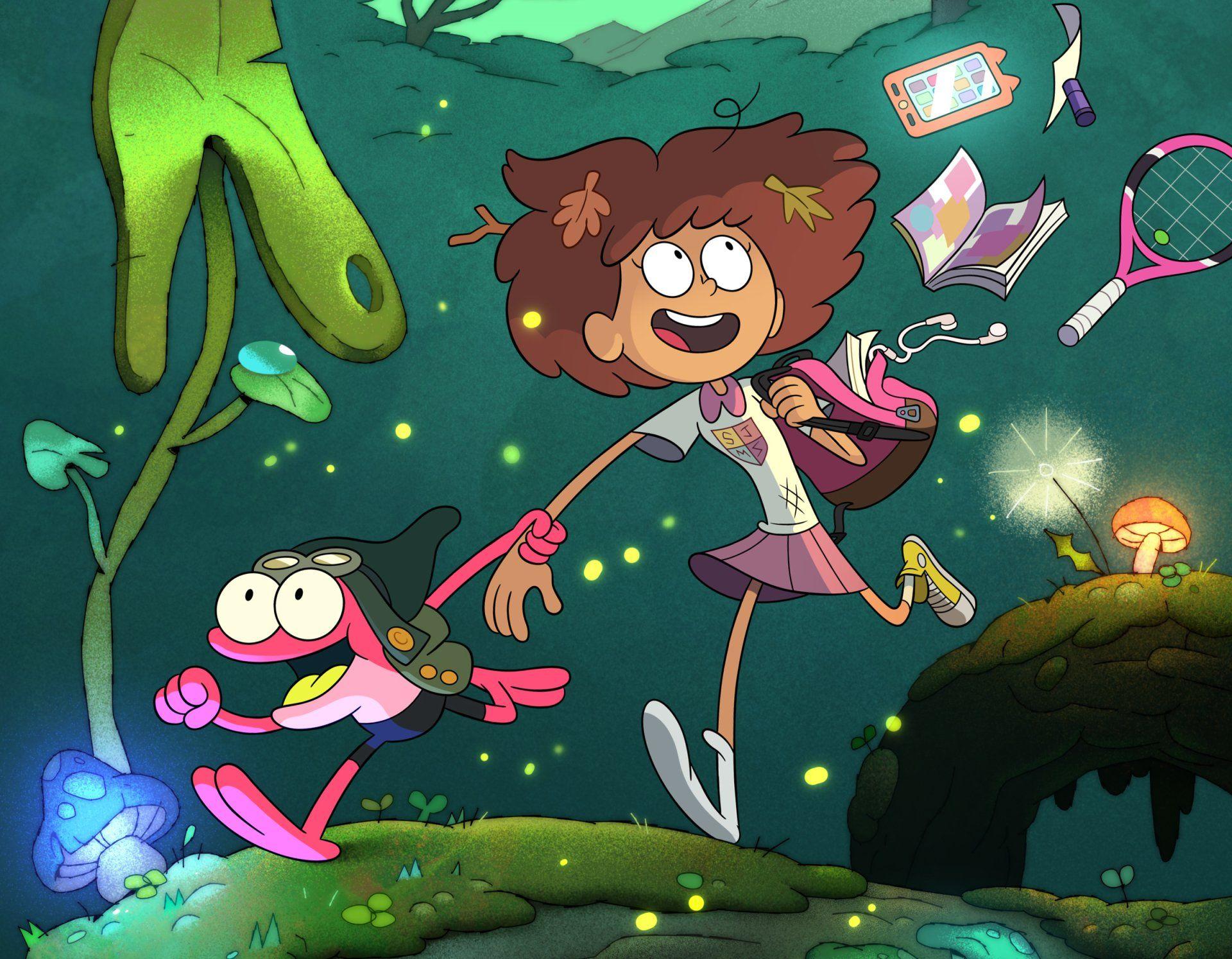 Amphibia Zoom Background