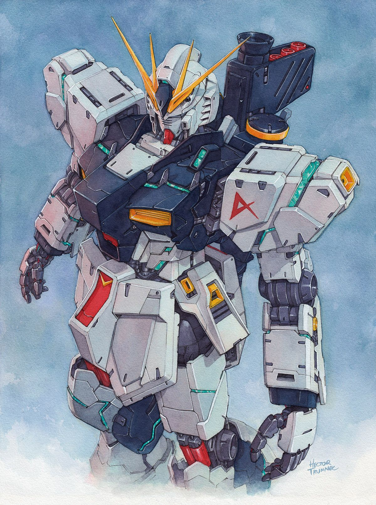 Nu Gundam Wallpapers posted by Zoey Mercado