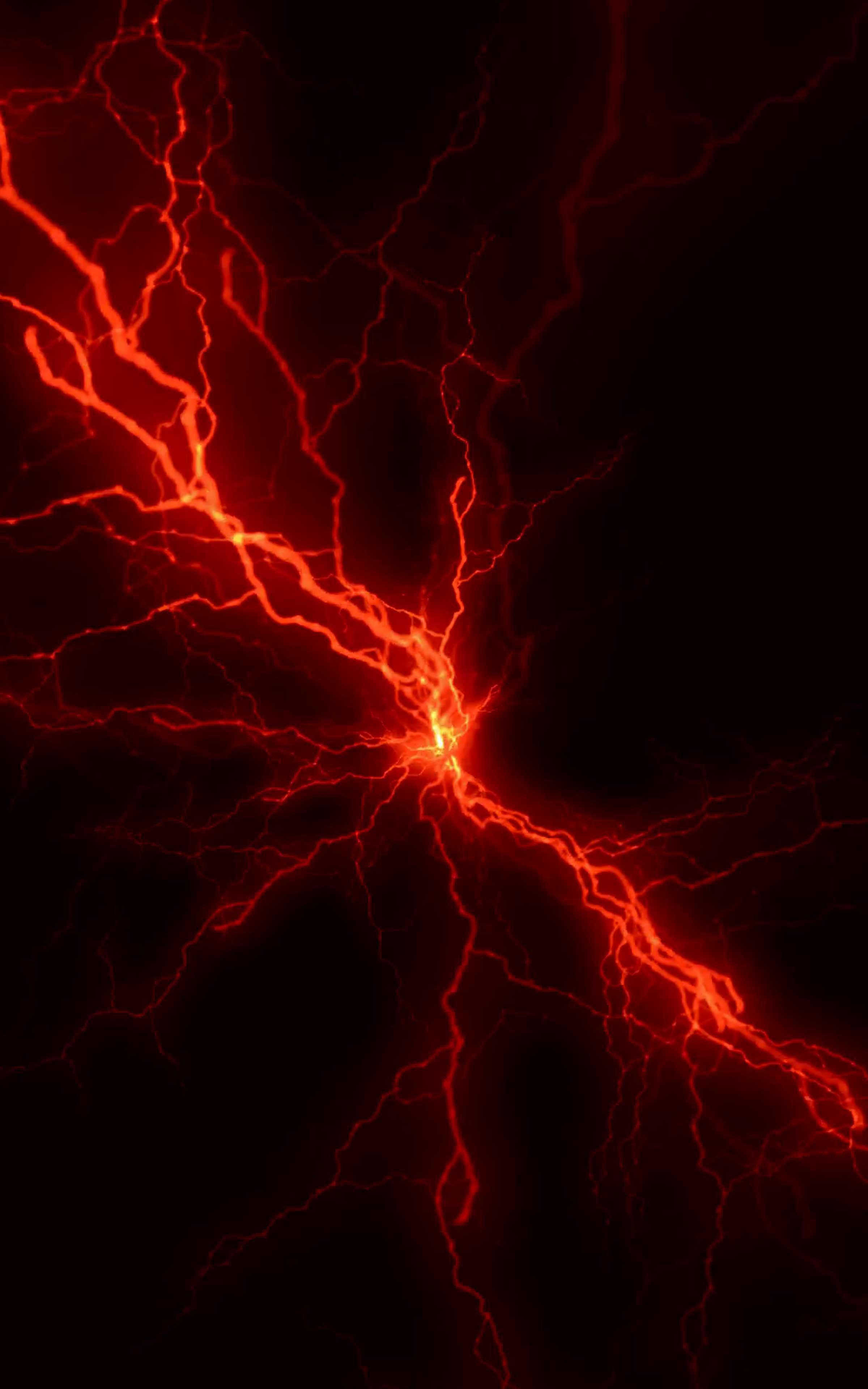 Red Lightning Wallpapers Wallpaper Cave