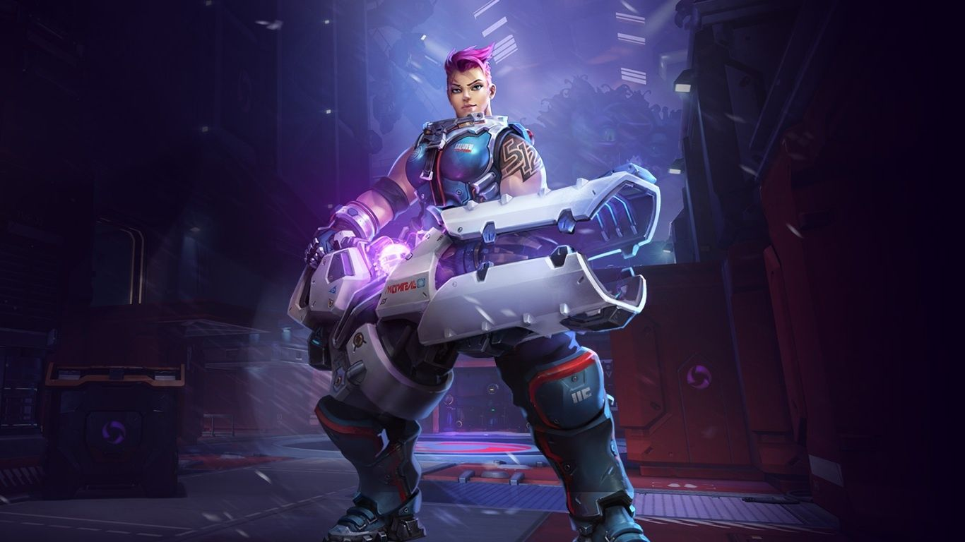 Heroes Of The Storm Zarya Portail Wallpapers