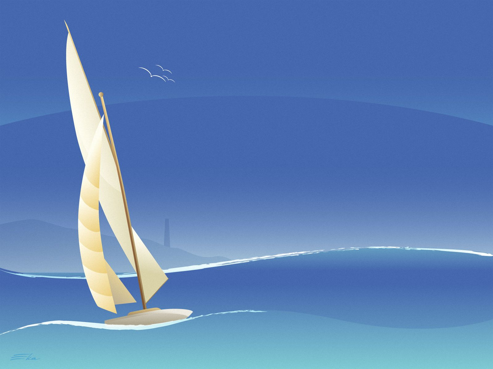 42+] Free Sailboat Wallpapers