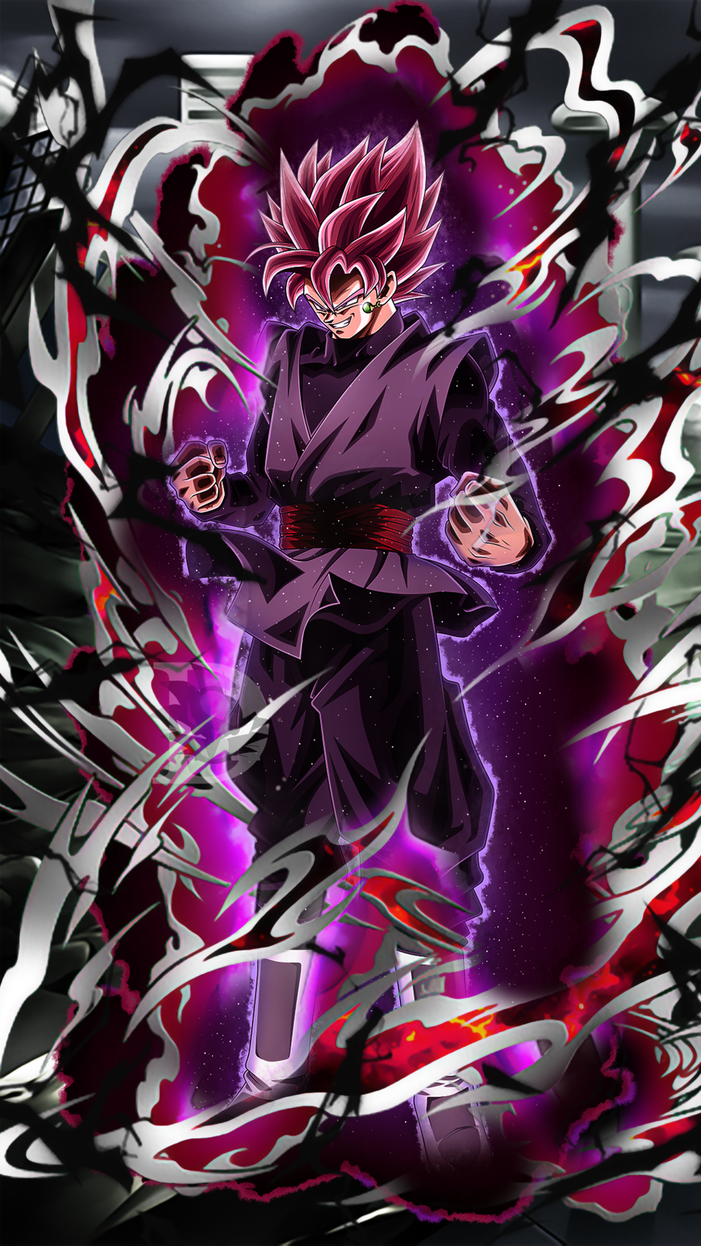Black Goku Rose Wallpapers Wallpaper Cave