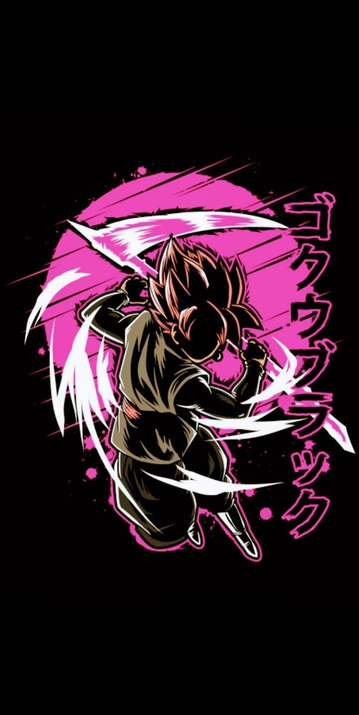 Black Goku Hd Mobile Wallpapers Wallpaper Cave