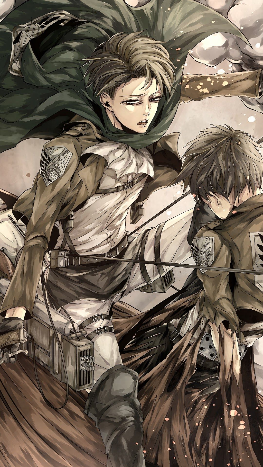 Levi X Eren Wallpapers Wallpaper Cave