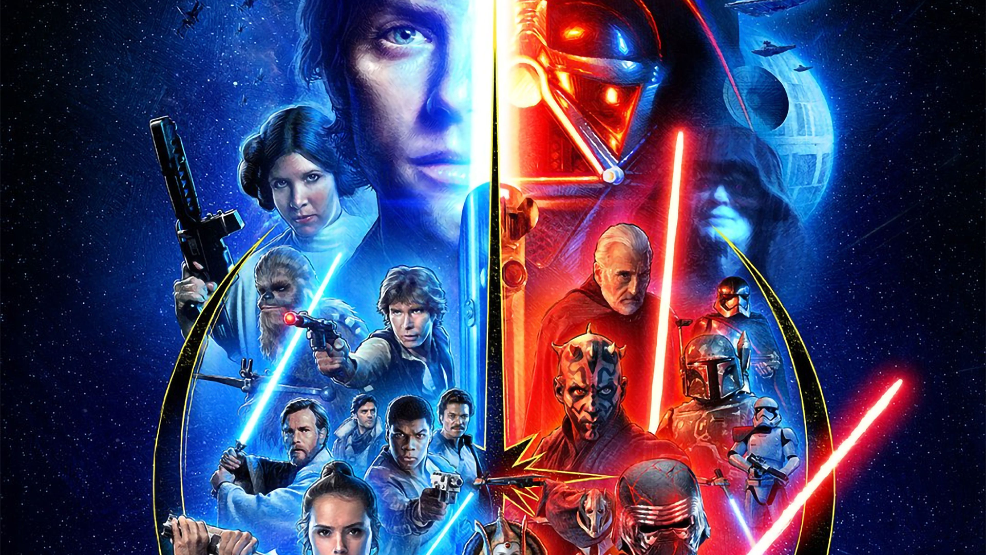 Star Wars Saga Wallpapers Wallpaper Cave