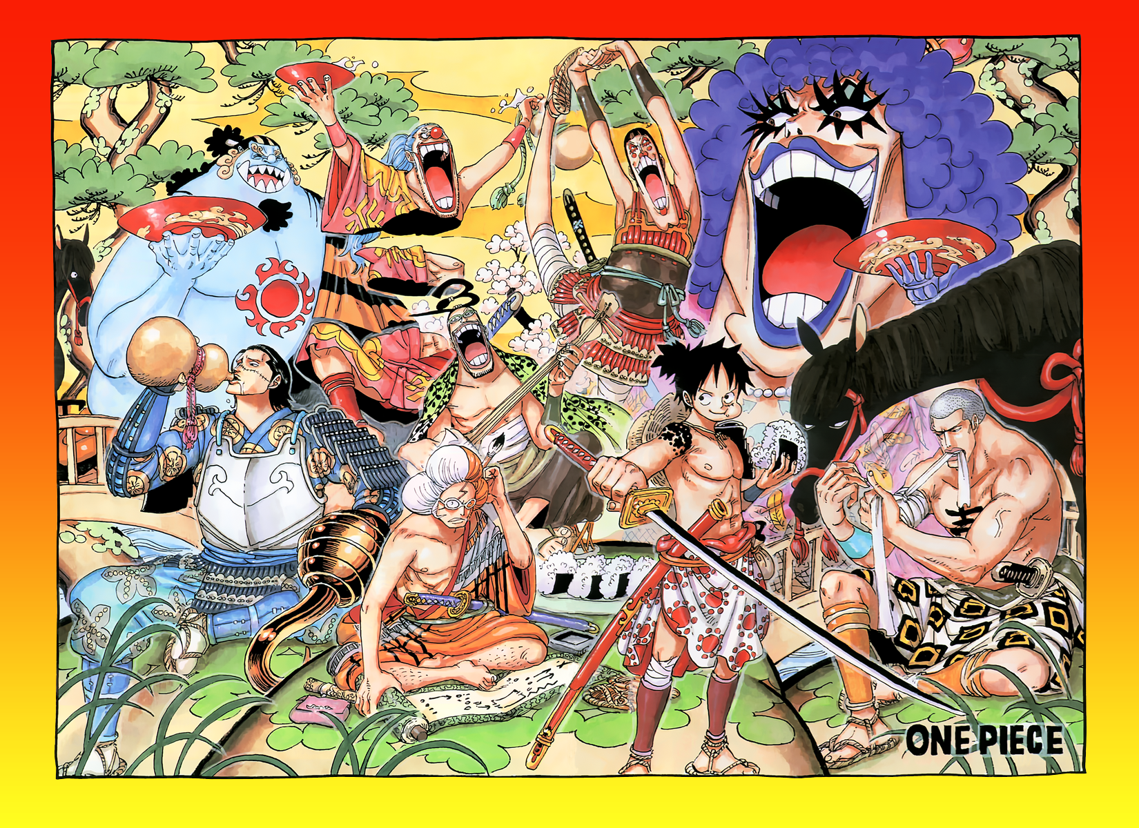 One Piece Wano Kuni Wallpapers Wallpaper Cave