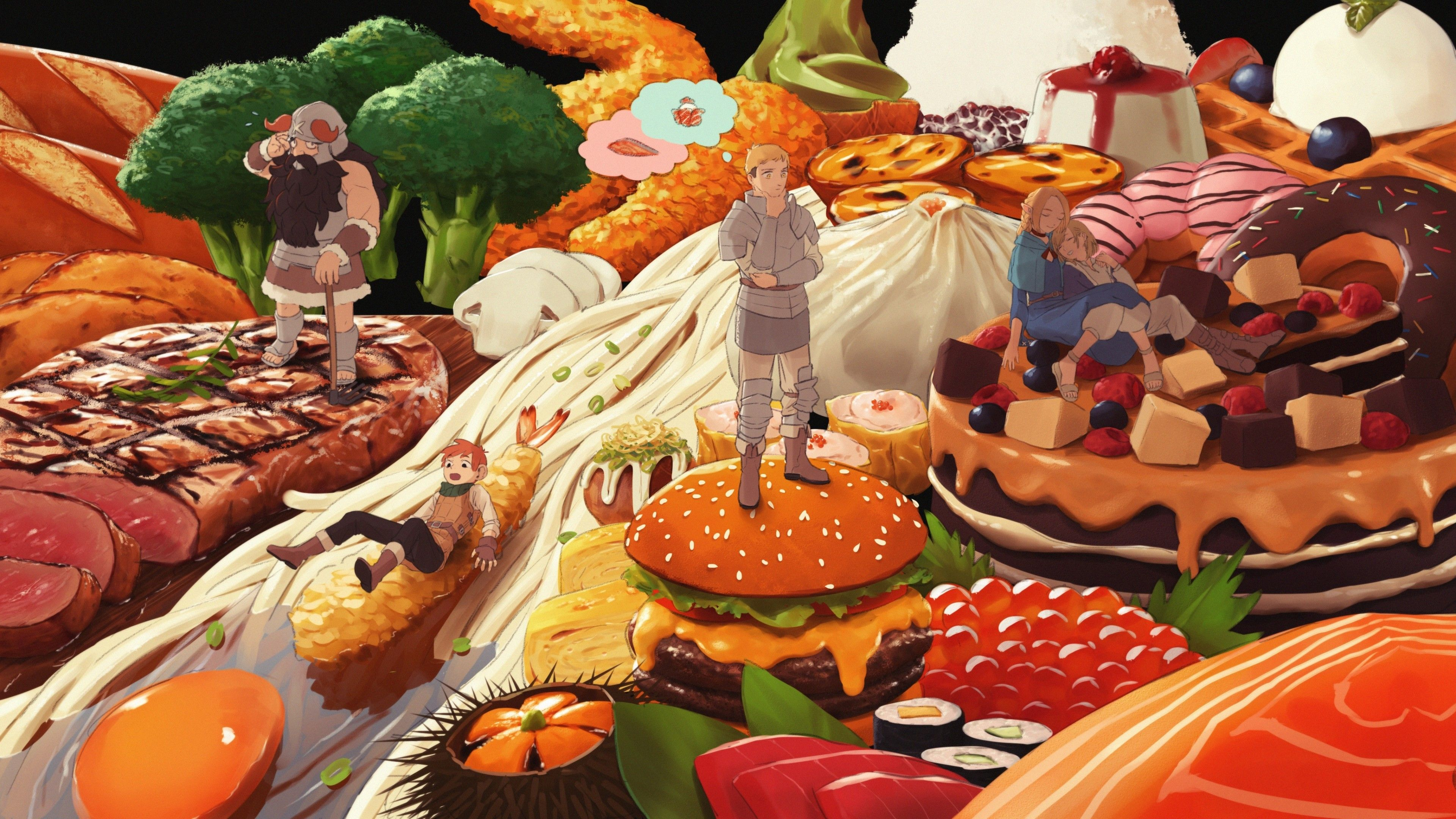 Aesthetic Anime Food Wallpapers - Wallpaper Cave
