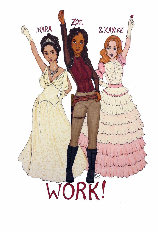 Modern Hamilton Schuyler Sisters