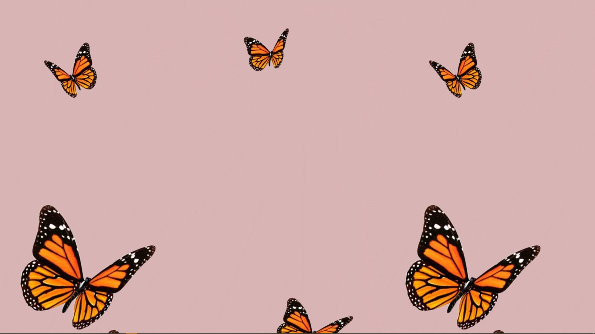Aesthetic Butterfly Desktop Wallpapers - Wallpaper Cave