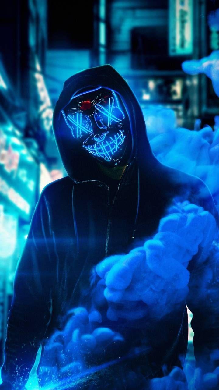 Neon Masks Wallpapers Wallpaper Cave