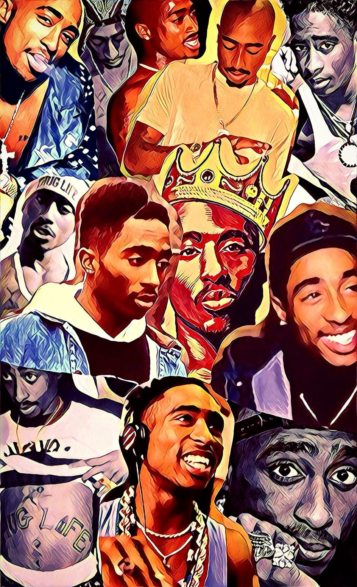 Tupac Aesthetic Wallpapers Wallpaper Cave
