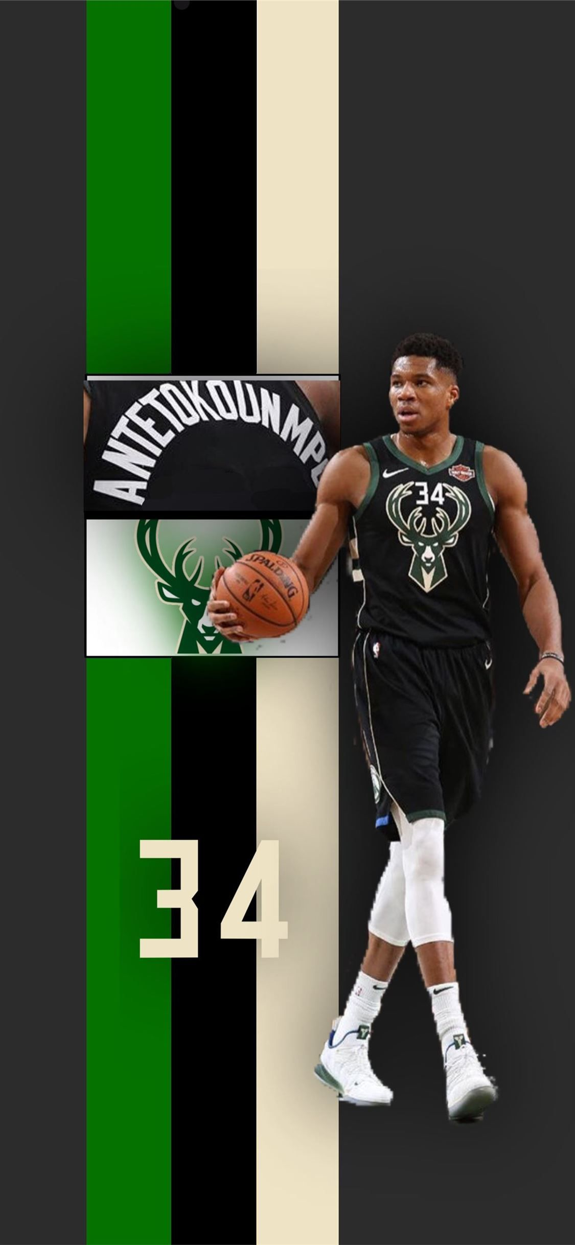 Giannis Antetokounmpo iPhone 8 Wallpapers - Wallpaper Cave