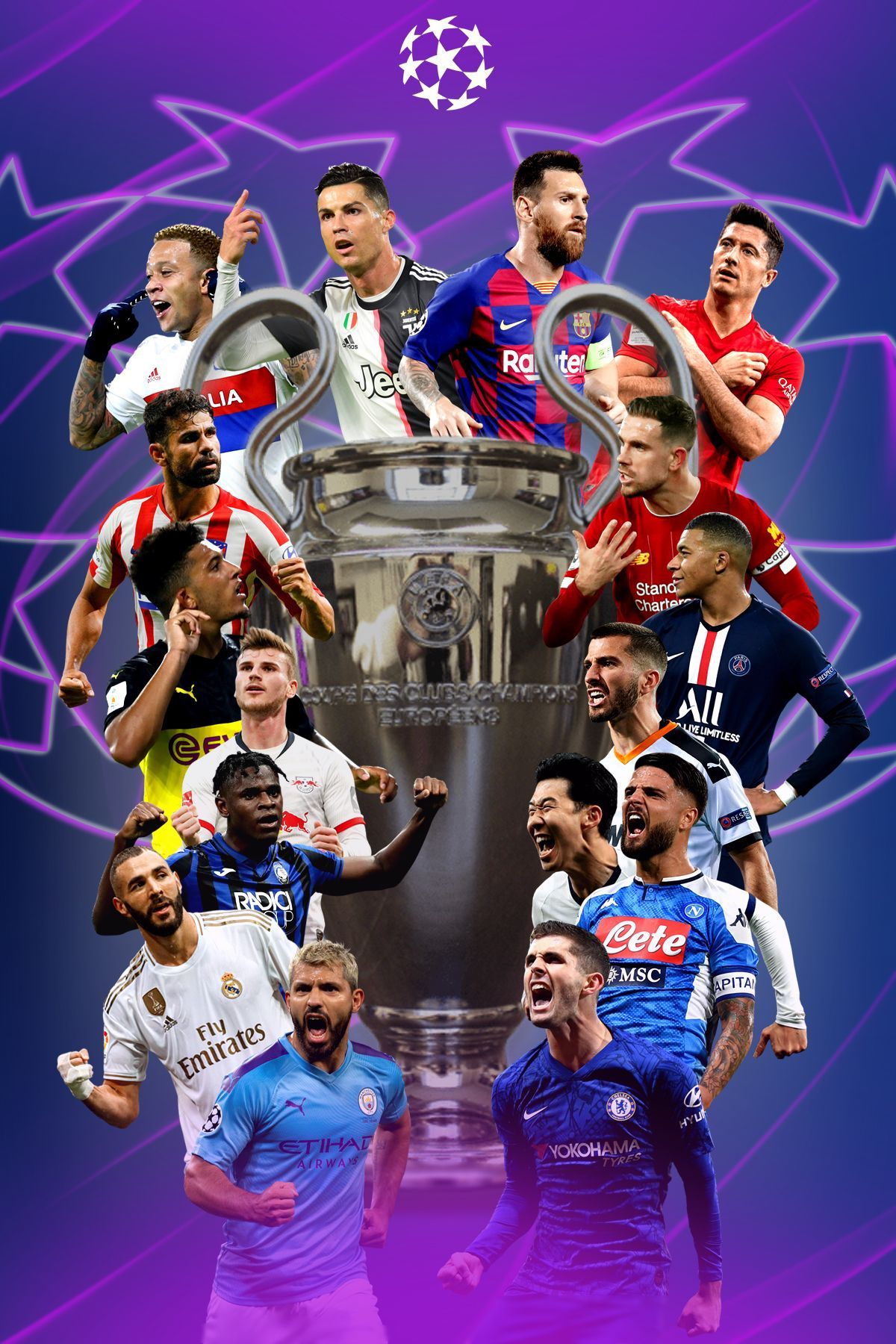 UEFA Champions League 2020 Wallpapers Wallpaper Cave