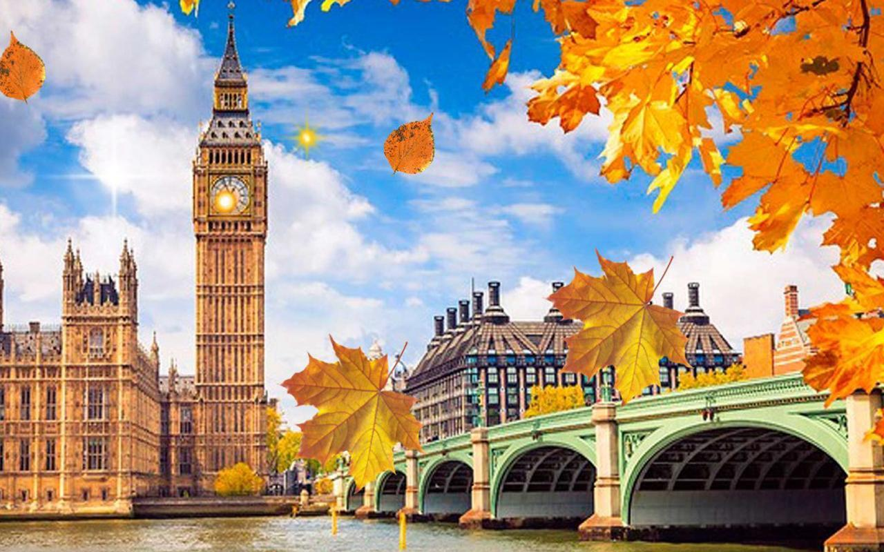 London In Autumn Wallpapers - Wallpaper Cave