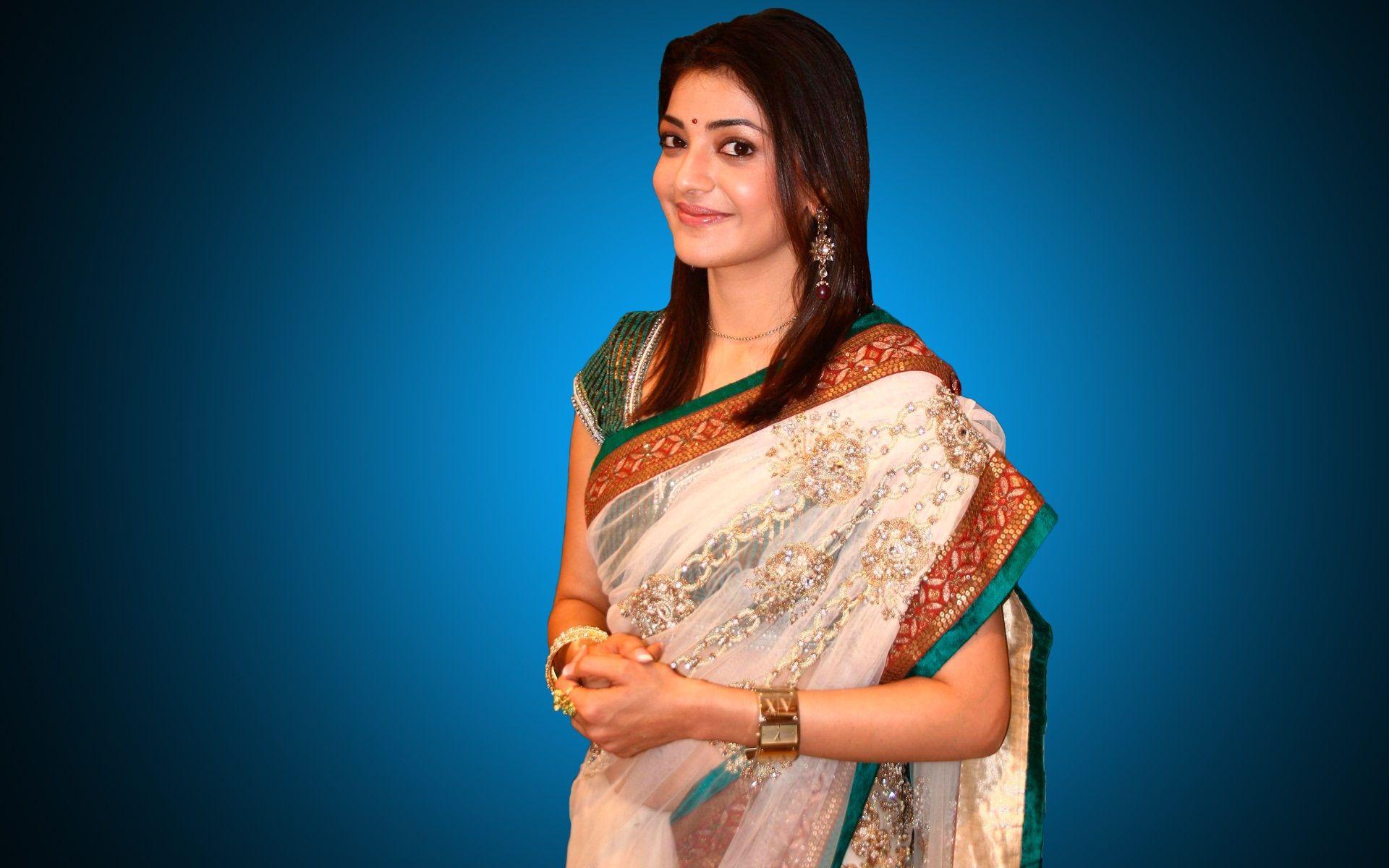 Kajal Agarwal Saree Pictures